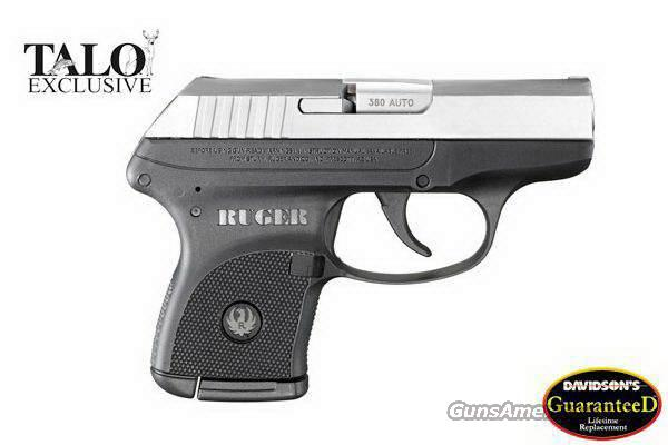 Limited Edition Ruger LCP Black w/ Chrome Slide 380 ACP   NEW!  Guns > Pistols > Ruger Semi-Auto Pistols > LCP