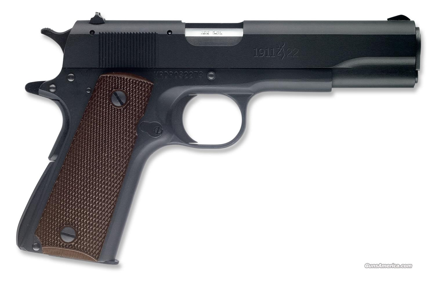 "Browning 1911-22 A1 pistol 22 LR w/ 4.25"" bbl.   New!   LAYAWAY OPTION    051802490  Guns > Pistols > Browning Pistols > Other Autos"