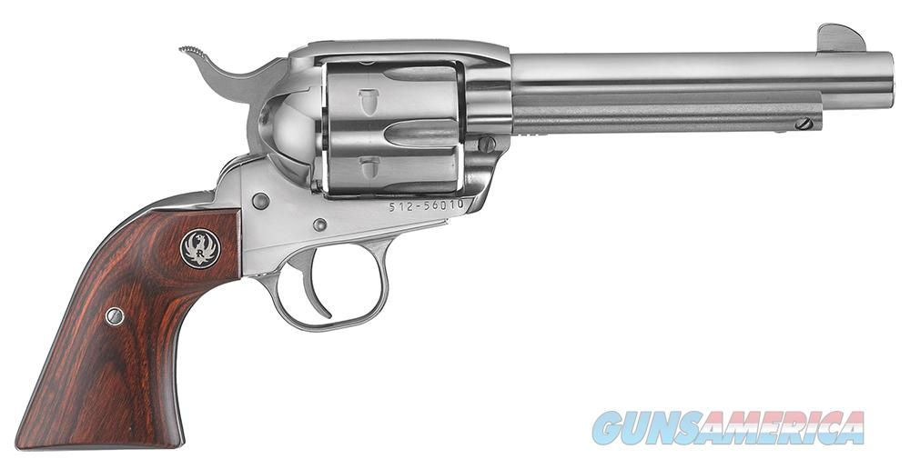 Ruger New Vaquero STAINLESS      45 Colt       New!       LAYAWAY OPTION       5104  Guns > Pistols > Ruger Single Action Revolvers > Cowboy Action