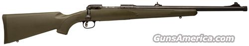 Savage 11 Hog Hunter Threaded Bbl. AccuTrigger     308 Win.     New!      LAYAWAY OPTION     19662  Guns > Rifles > Savage Rifles > Accutrigger Models > Sporting