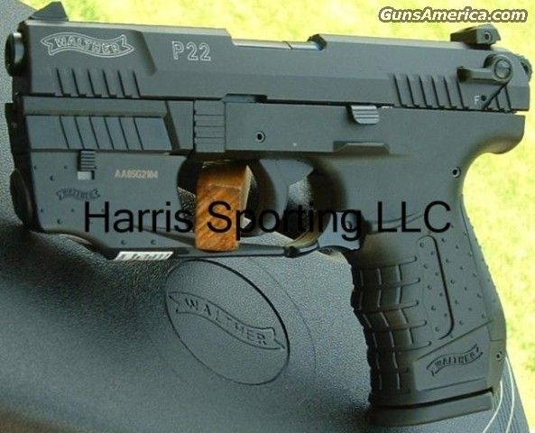 Walther P22 Target w/ LASER Sight 22 LR   New!  Guns > Pistols > Walther Pistols