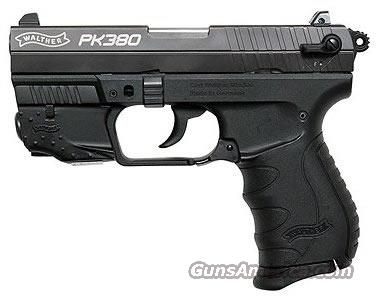 Walther PK380 w/ LASER 380 ACP  New!   Guns > Pistols > Walther Pistols > Post WWII > PK380