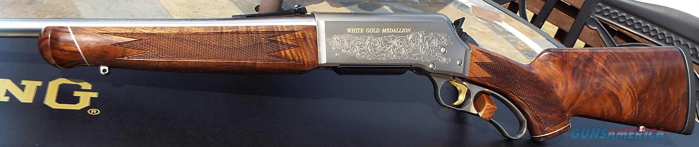 Browning BLR White Gold Medallion    308 Win.    New!   LAYAWAY OPTION    034017118  Guns > Rifles > Browning Rifles > Lever Action