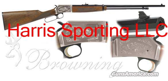 Browning BL-22 FLD Grade II OCTAGON 22  NEW!  Guns > Rifles > Browning Rifles > Lever Action