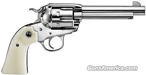 Ruger BISLEY Vaquero STAINLESS w/ Ivory       357 Mag       New!      LAYAWAY OPTION       5130    Guns > Pistols > Ruger Single Action Revolvers > Cowboy Action
