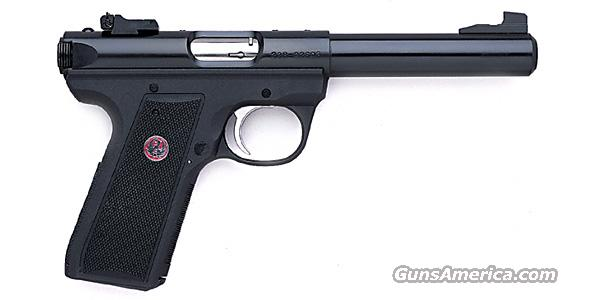 Ruger MKIII 22/45 Bull Barrel 22 LR   New!  Guns > Pistols > Ruger Semi-Auto Pistols > Mark I & II Family