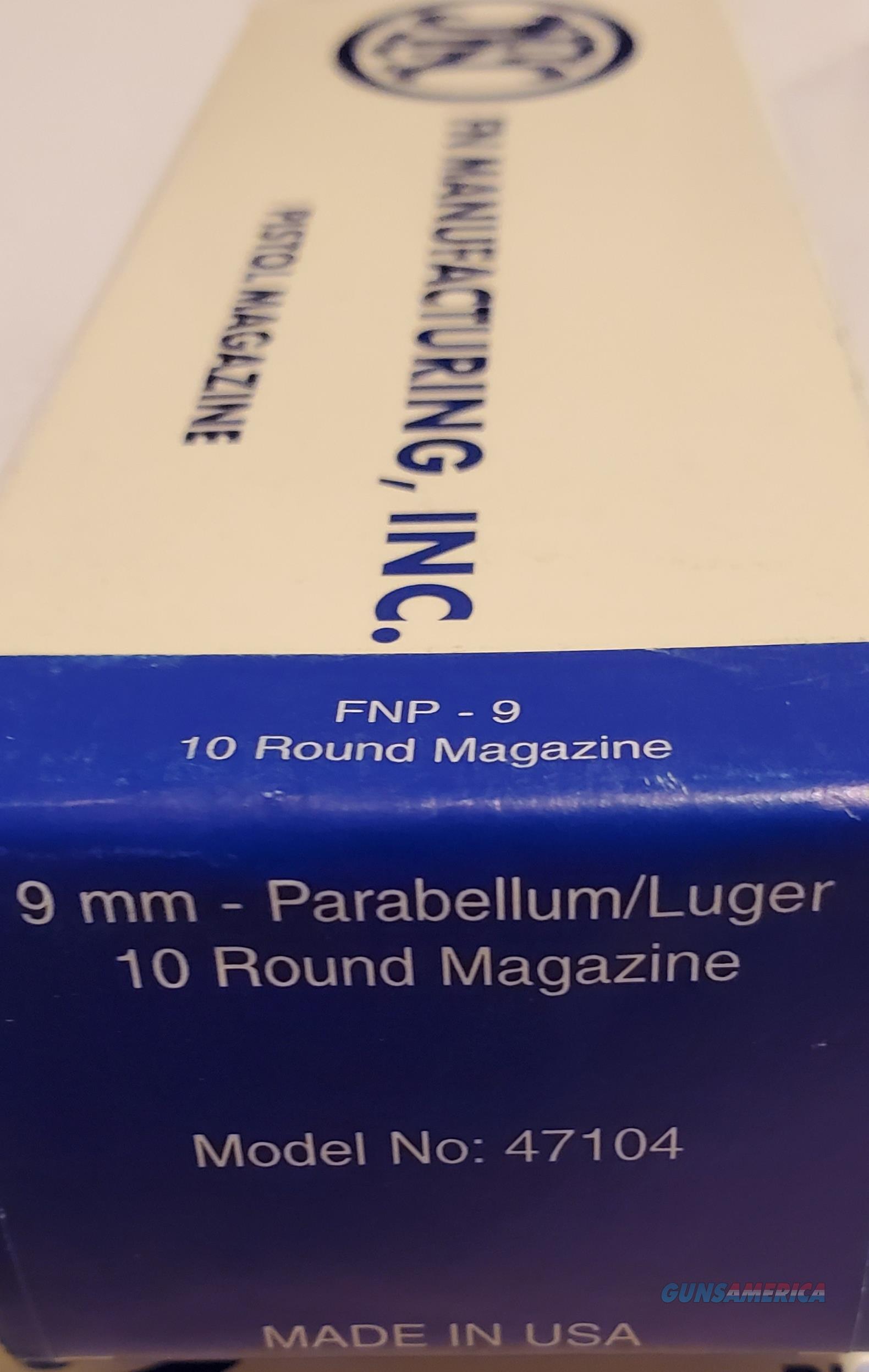 FN model FNP-9  9mm 10-Round SS Magazine  NEW!  47104  Non-Guns > Magazines & Clips > Pistol Magazines > Other