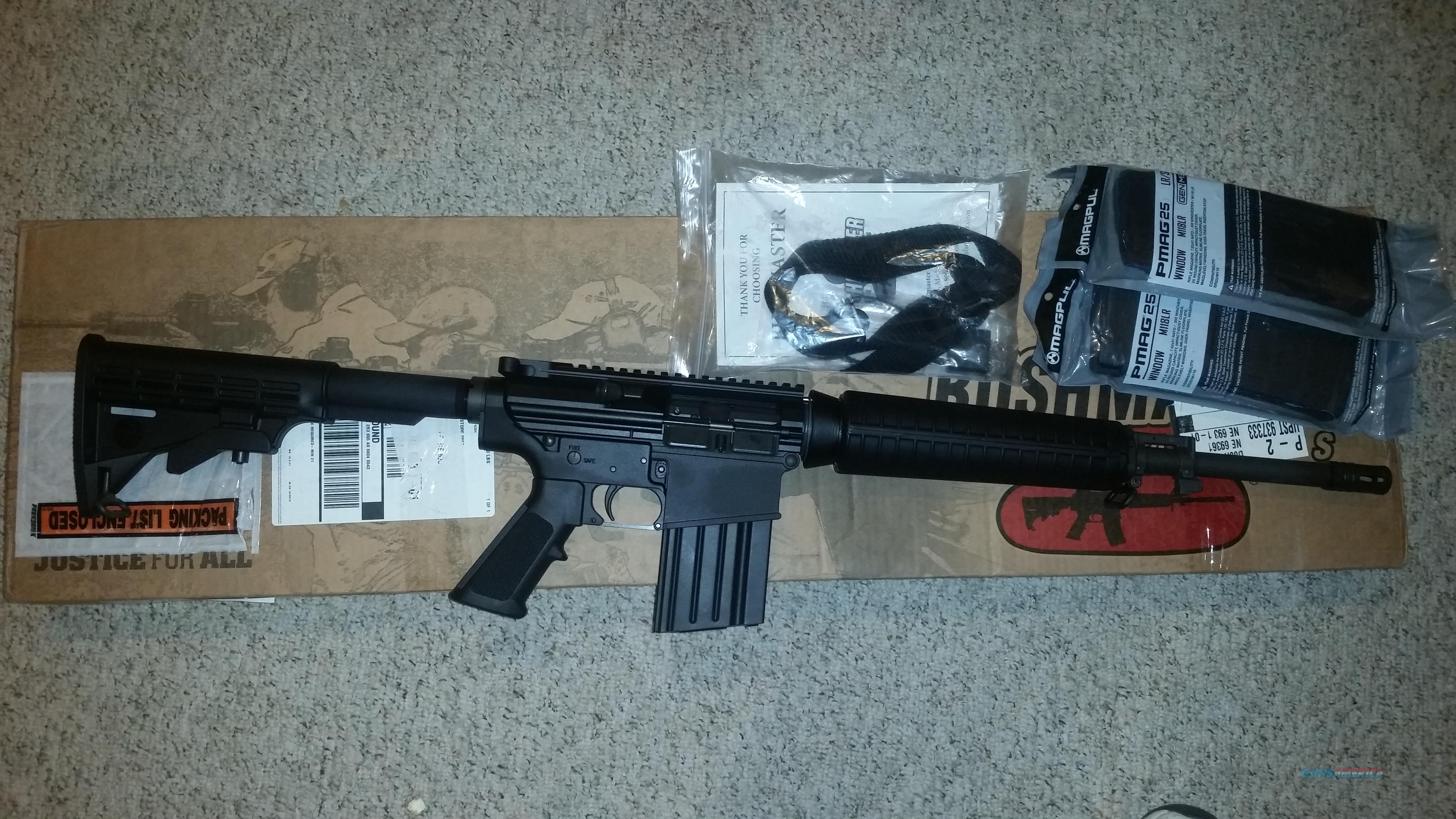 Bushmaster 308 ORC NIB with xtra mags  Guns > Rifles > Bushmaster Rifles > Complete Rifles