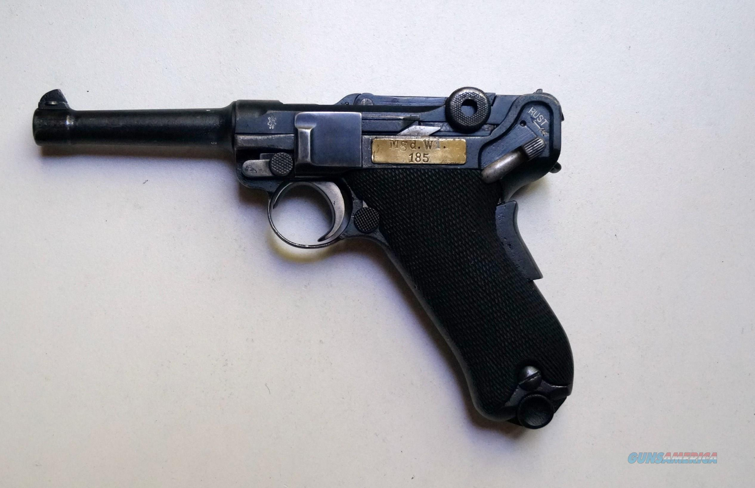 VICKERS LTD (DUTCH CONTRACT) BRITISH MADE LUGER  Guns > Pistols > Luger Pistols