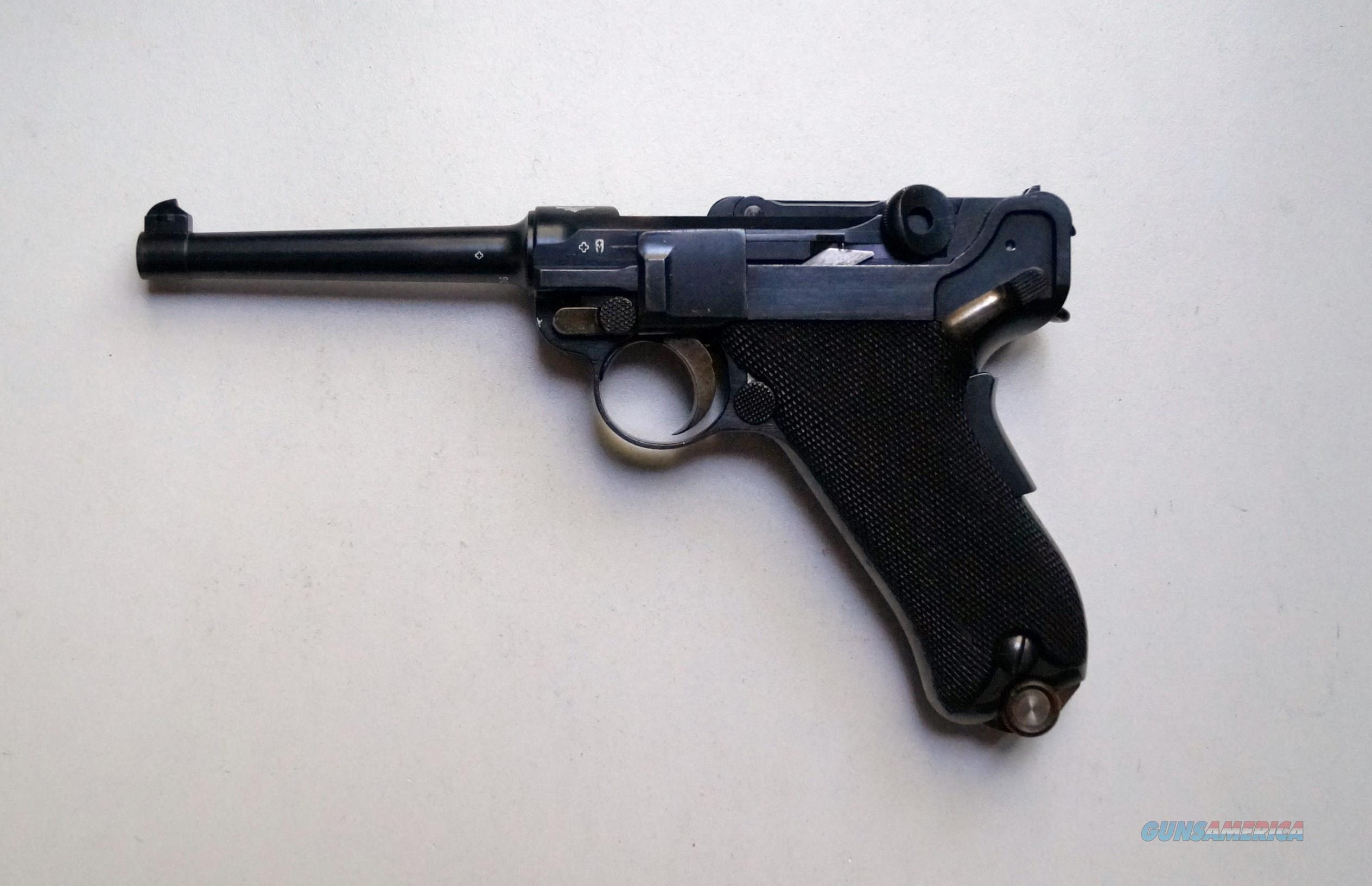 1900 DWM SWISS MILITARY GERMAN LUGER   Guns > Pistols > Luger Pistols