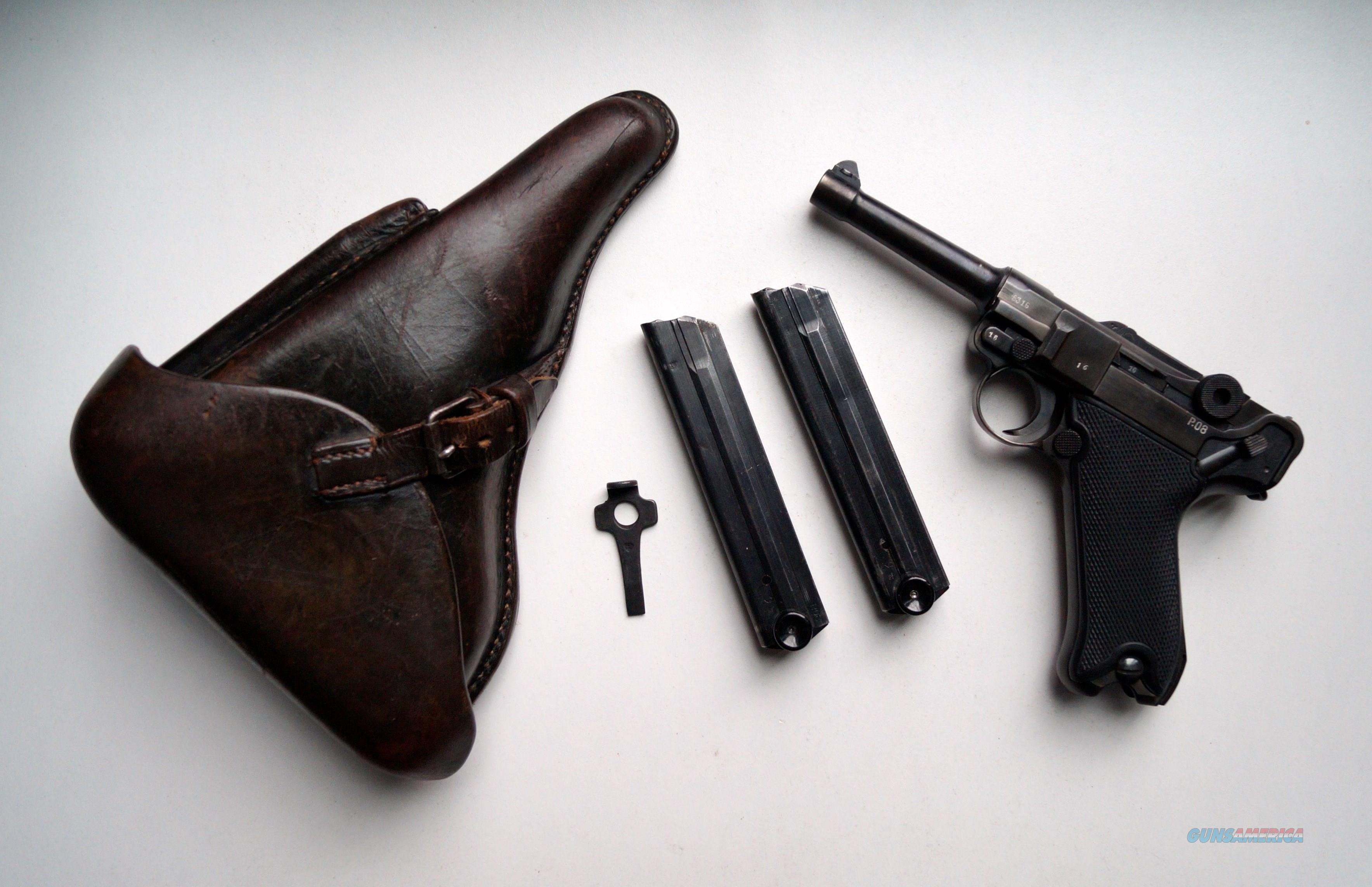 41 BYF BLACK WIDOW GERMAN LUGER RIG   Guns > Pistols > Luger Pistols