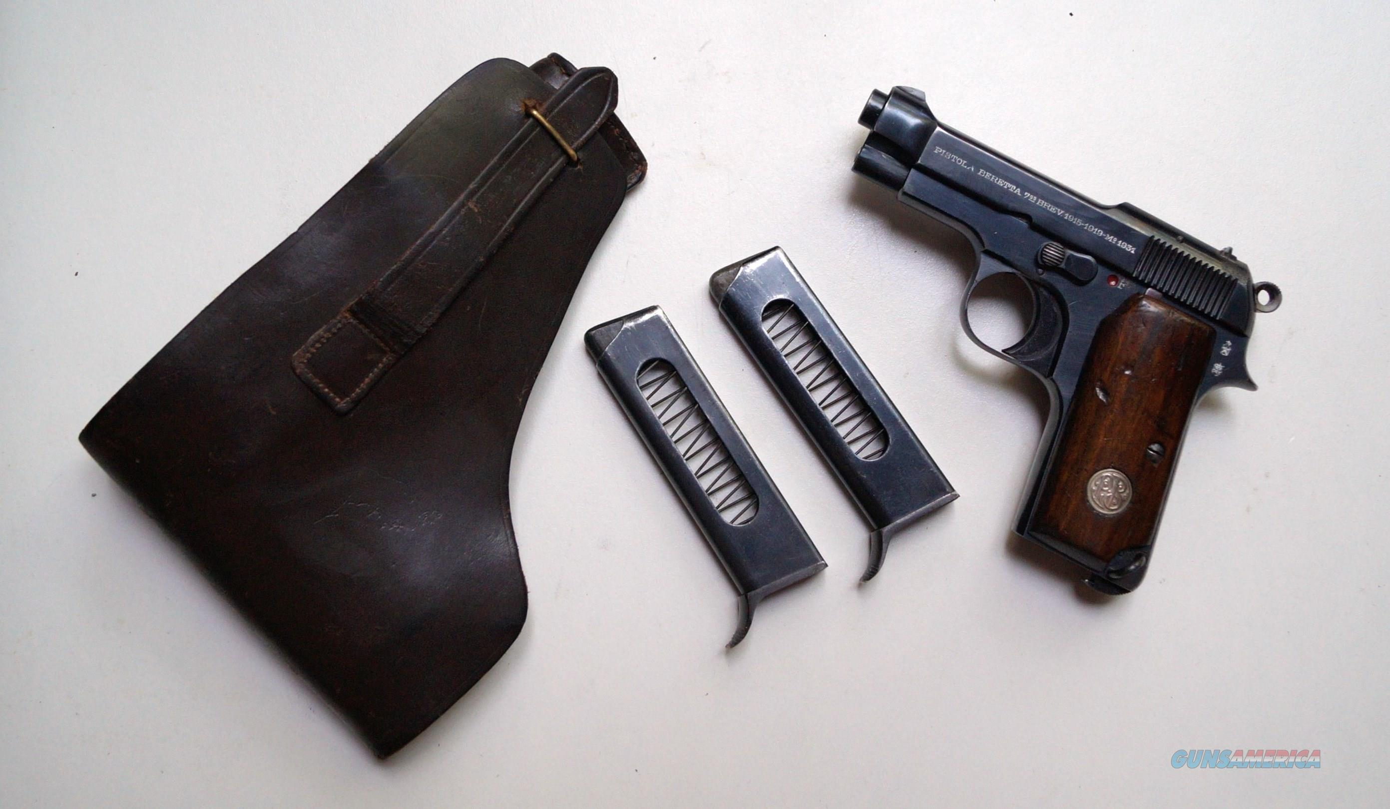 BERETTA COMMERCIAL MODEL 1931 RIG  Guns > Pistols > Beretta Pistols > Rare & Collectible
