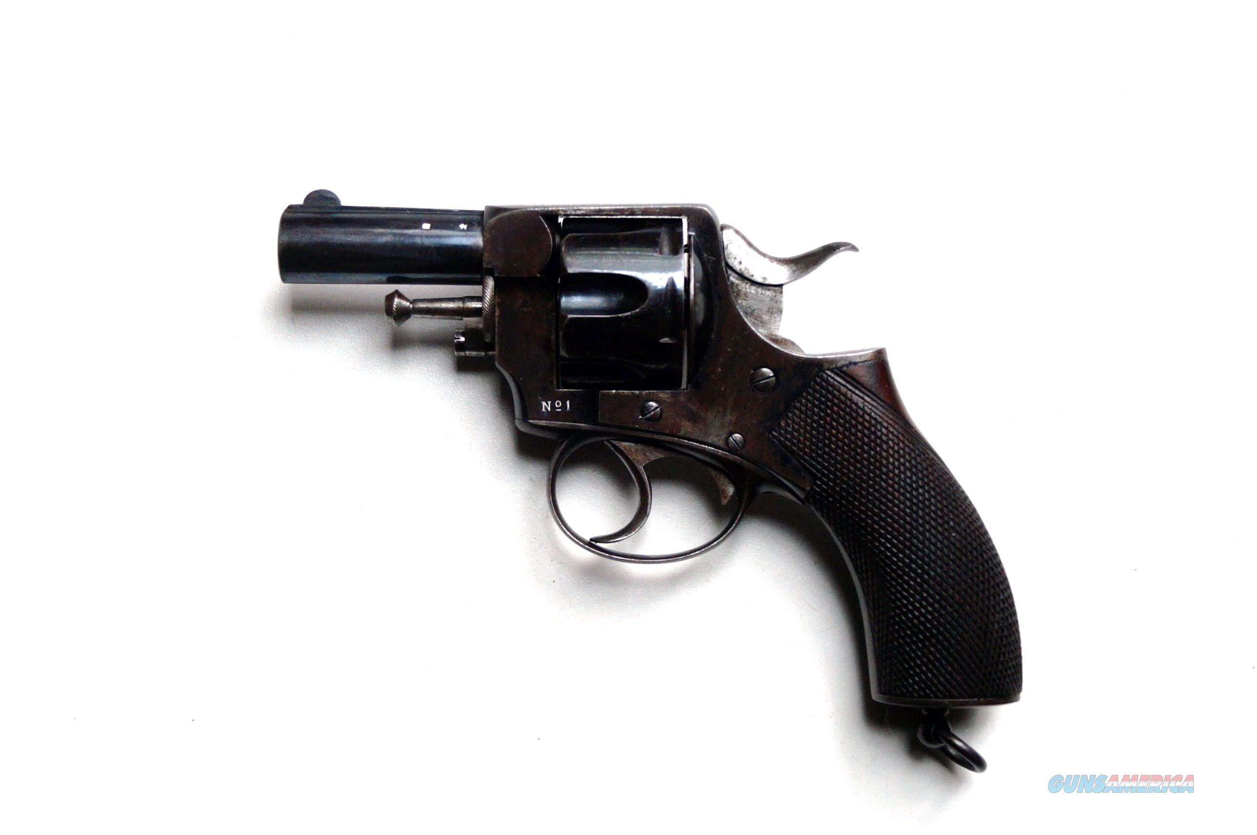 WEBLEY RIC #1 - ANTIQUE  Guns > Pistols > Webley Pistols