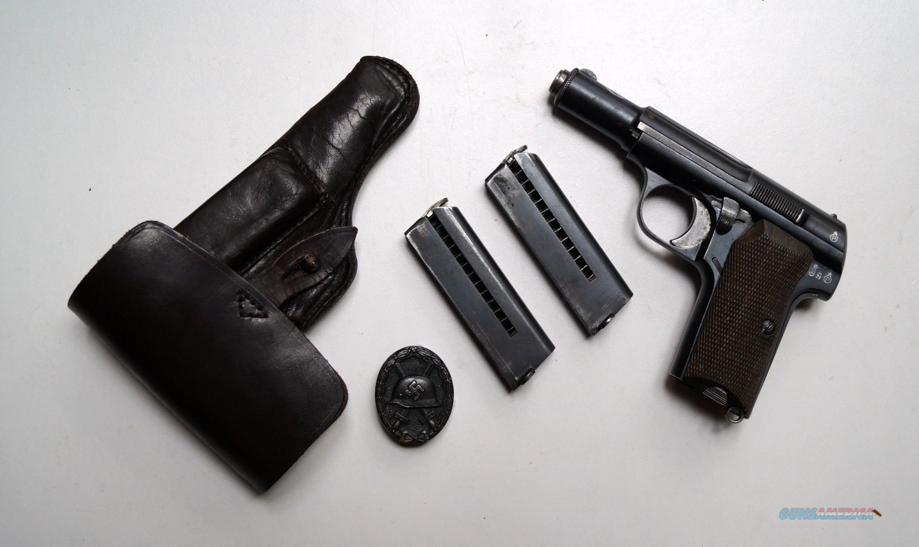 ASTRA 300 / NAZI MARKED / RIG  Guns > Pistols > Astra Pistols