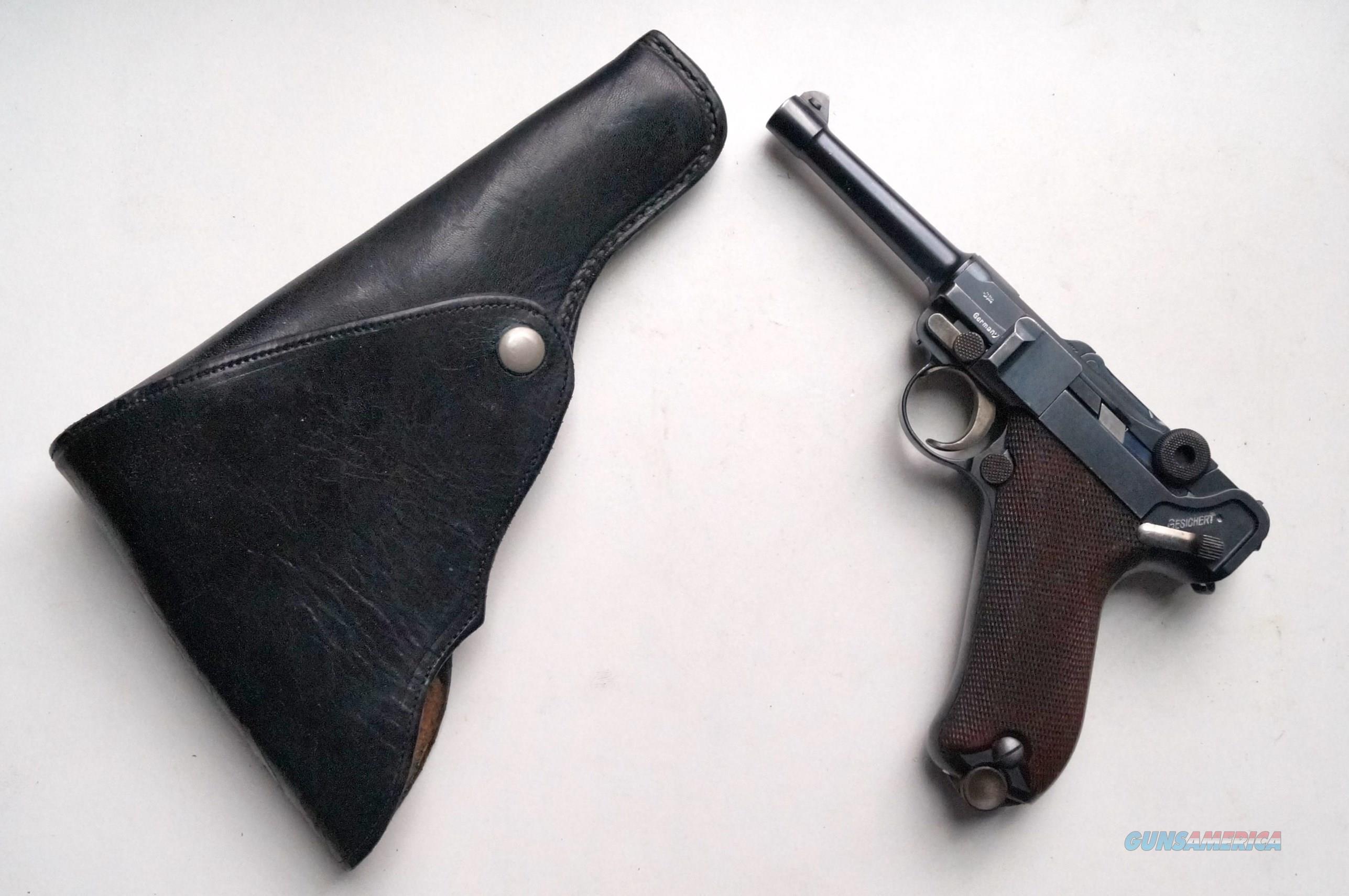 1908 DWM COMMERCIAL GERMAN LUGER RIG  Guns > Pistols > Luger Pistols