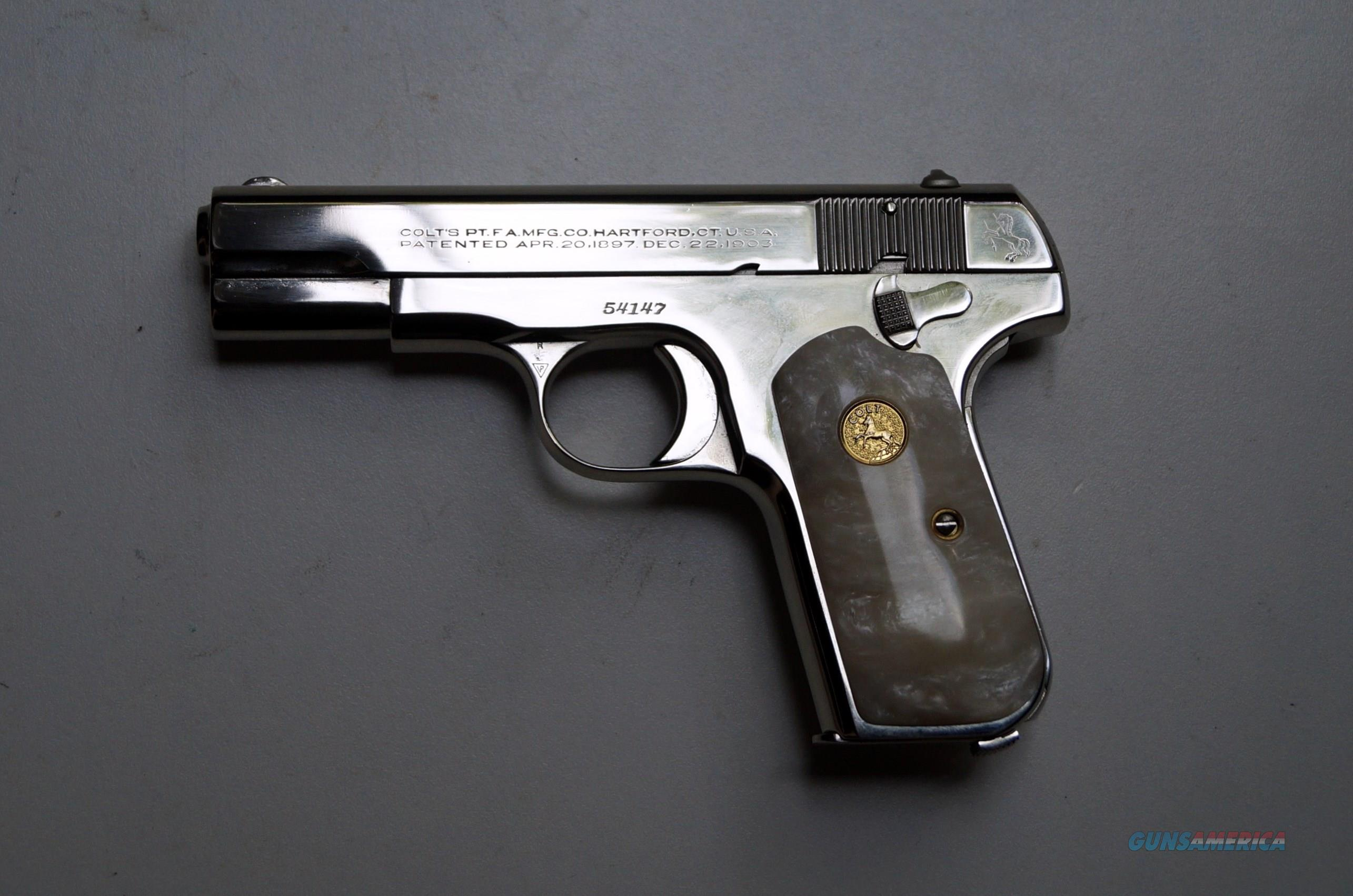 COLT 1908 POCKET (MODEL M .380 ACP)  Guns > Pistols > Colt Automatic Pistols (.25, .32, & .380 cal)