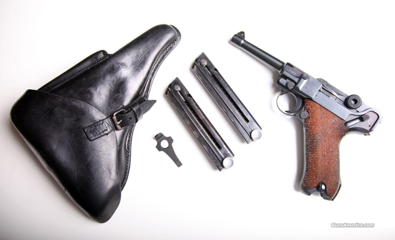 1939 S/42 RIG / MATCHING # MAGAZINES  Guns > Pistols > Luger Pistols