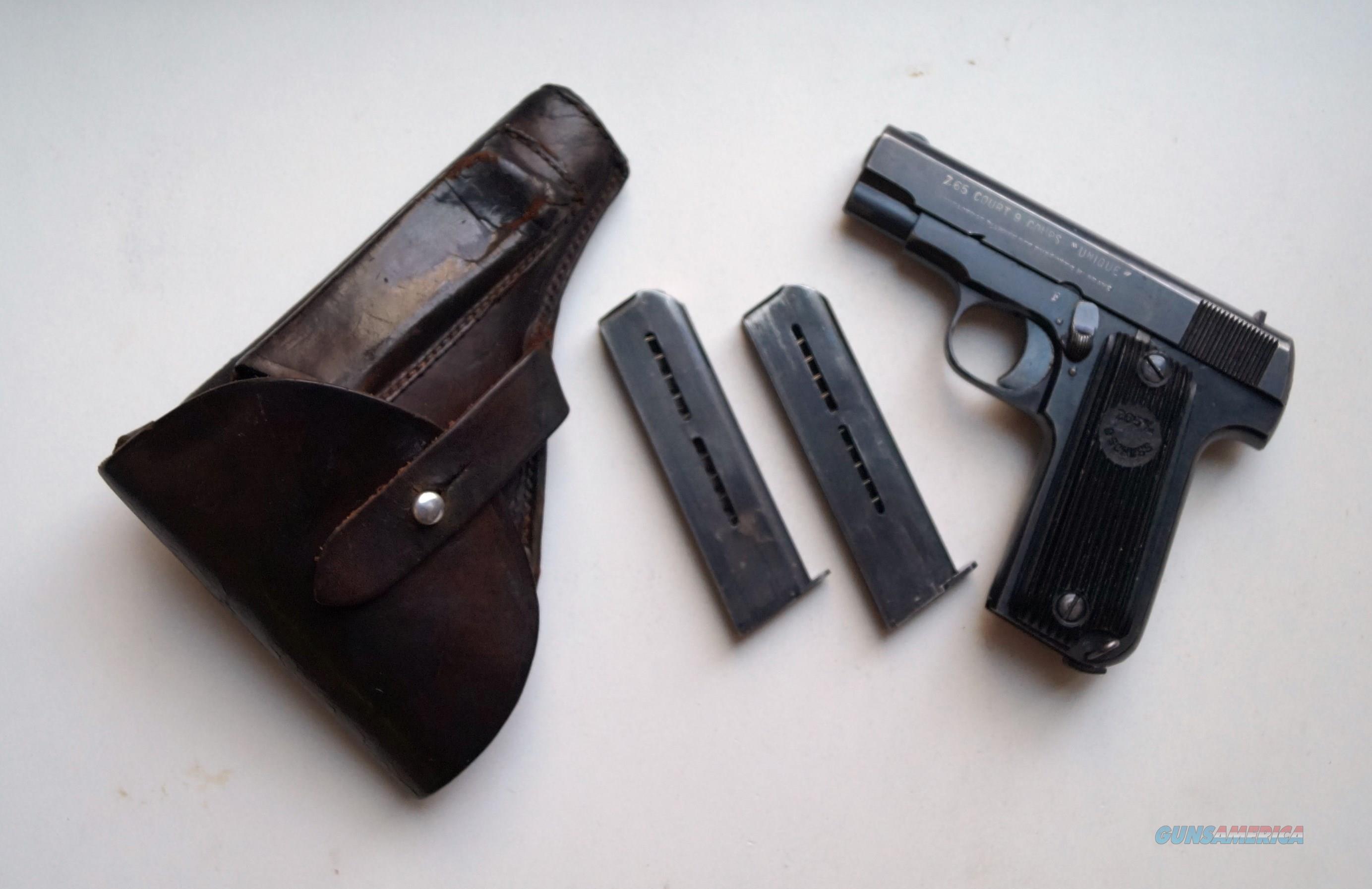 FRENCH UNIQUE NAZI MARKED RIG  Guns > Pistols > Military Misc. Pistols Non-US