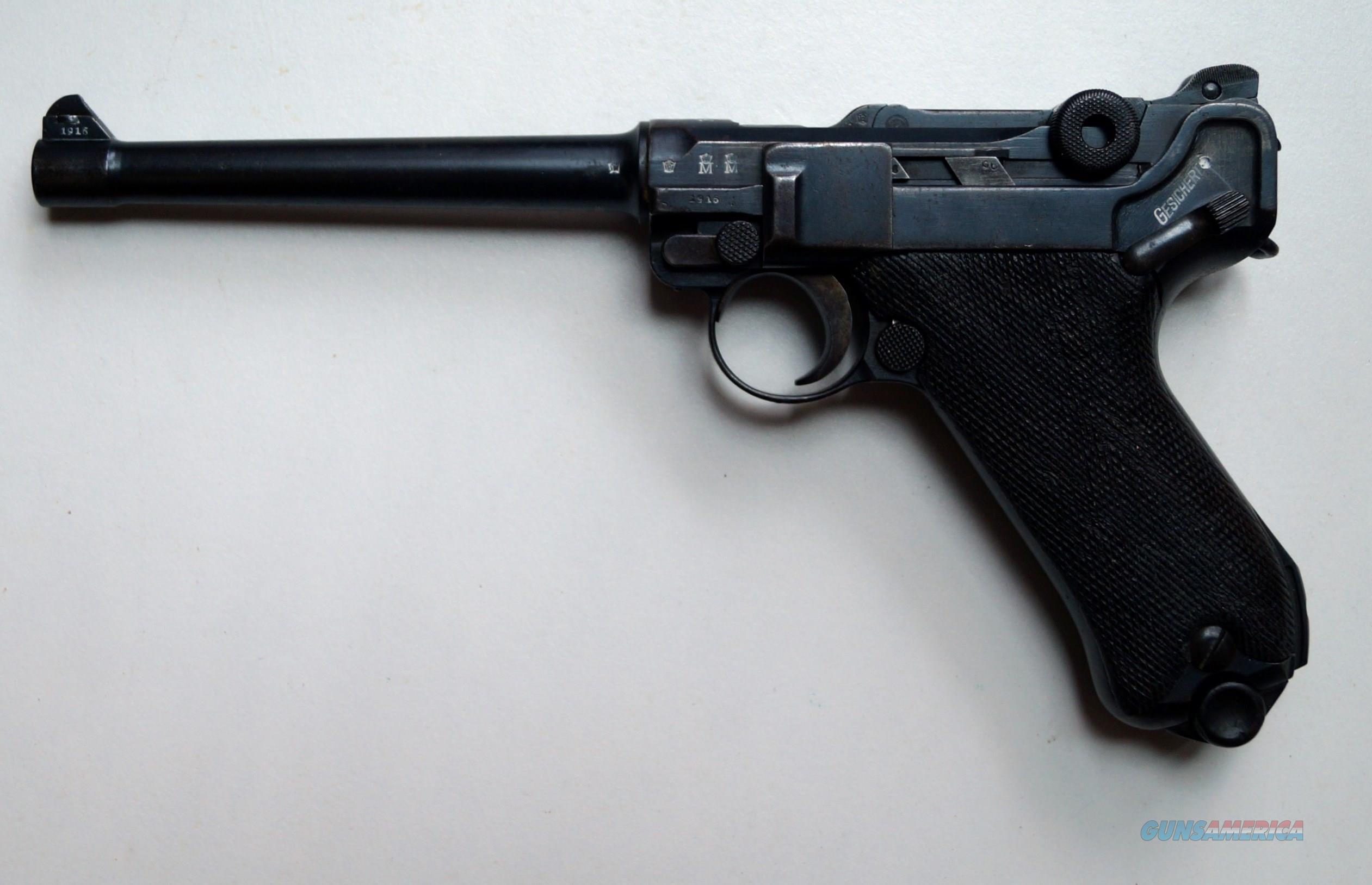 1916 DWM NAVY GERMAN LUGER   Guns > Pistols > Luger Pistols