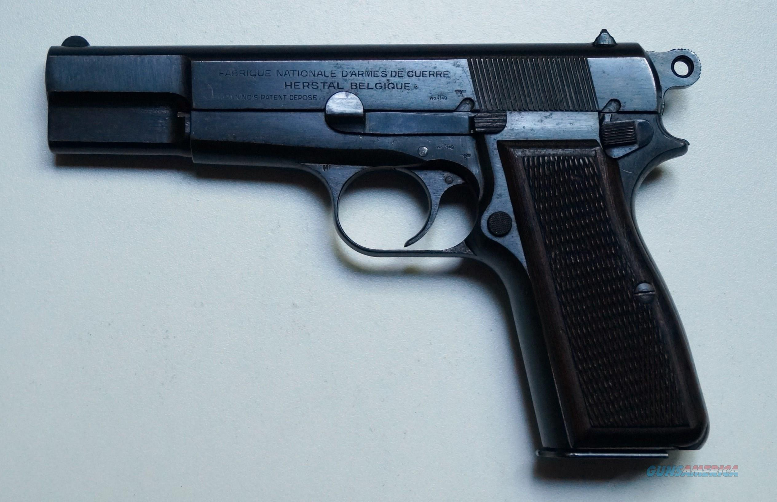 FN / BROWNING NAZI MARKED HI POWER P35   Guns > Pistols > FNH - Fabrique Nationale (FN) Pistols > High Power Type