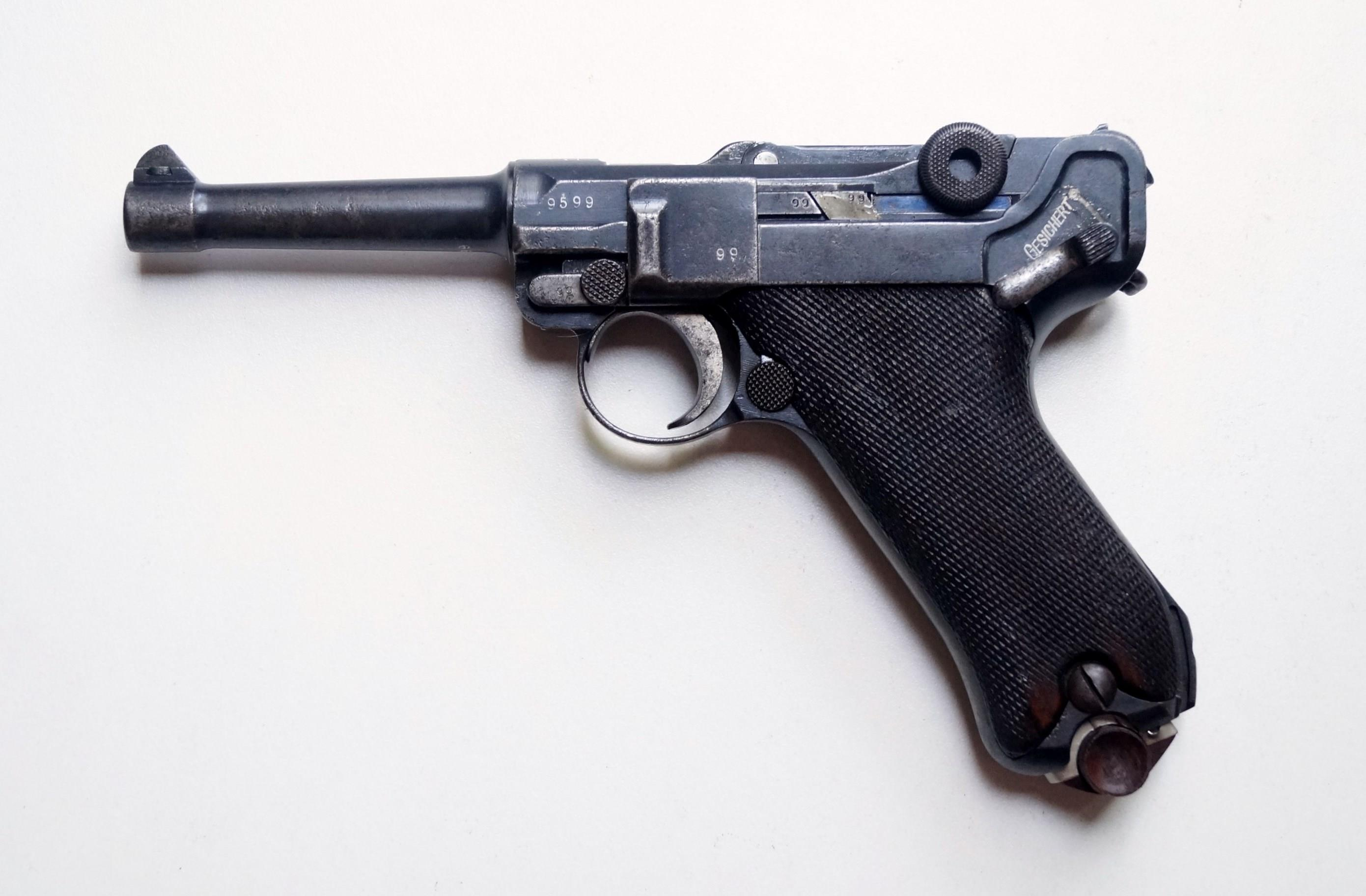 1914 DWM MILITARY GERMAN LUGER  Guns > Pistols > Luger Pistols