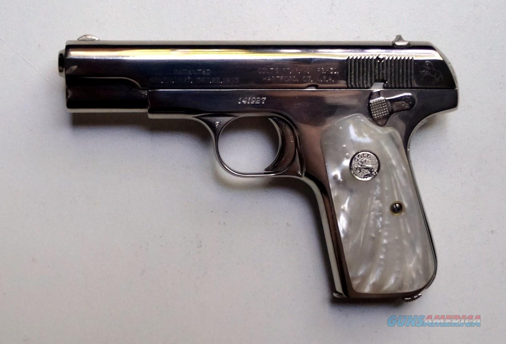 COLT MODEL 1903 POCKET  Guns > Pistols > Colt Automatic Pistols (.25, .32, & .380 cal)