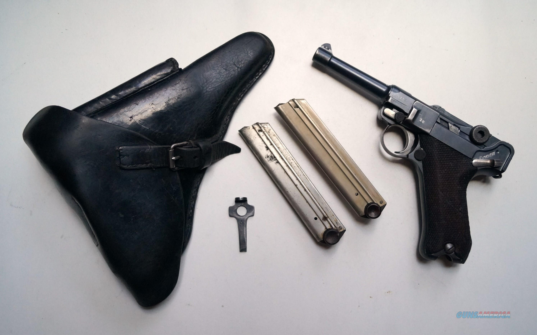 SIMSON - DWM REWORK GERMAN LUGER RIG  Guns > Pistols > Luger Pistols