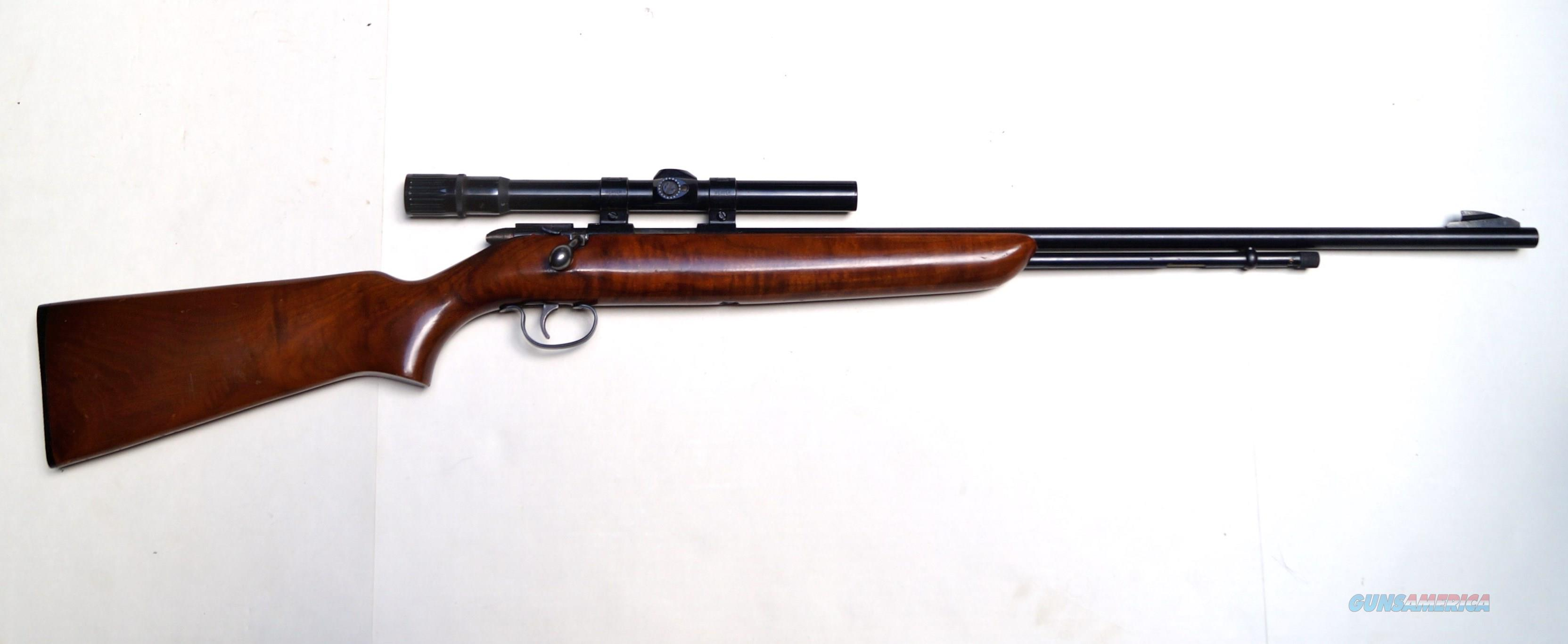 REMINGTON MODEL 512X WITH A WEAVER SCOPE  Guns > Rifles > Remington Rifles - Modern > Bolt Action Non-Model 700 > Sporting