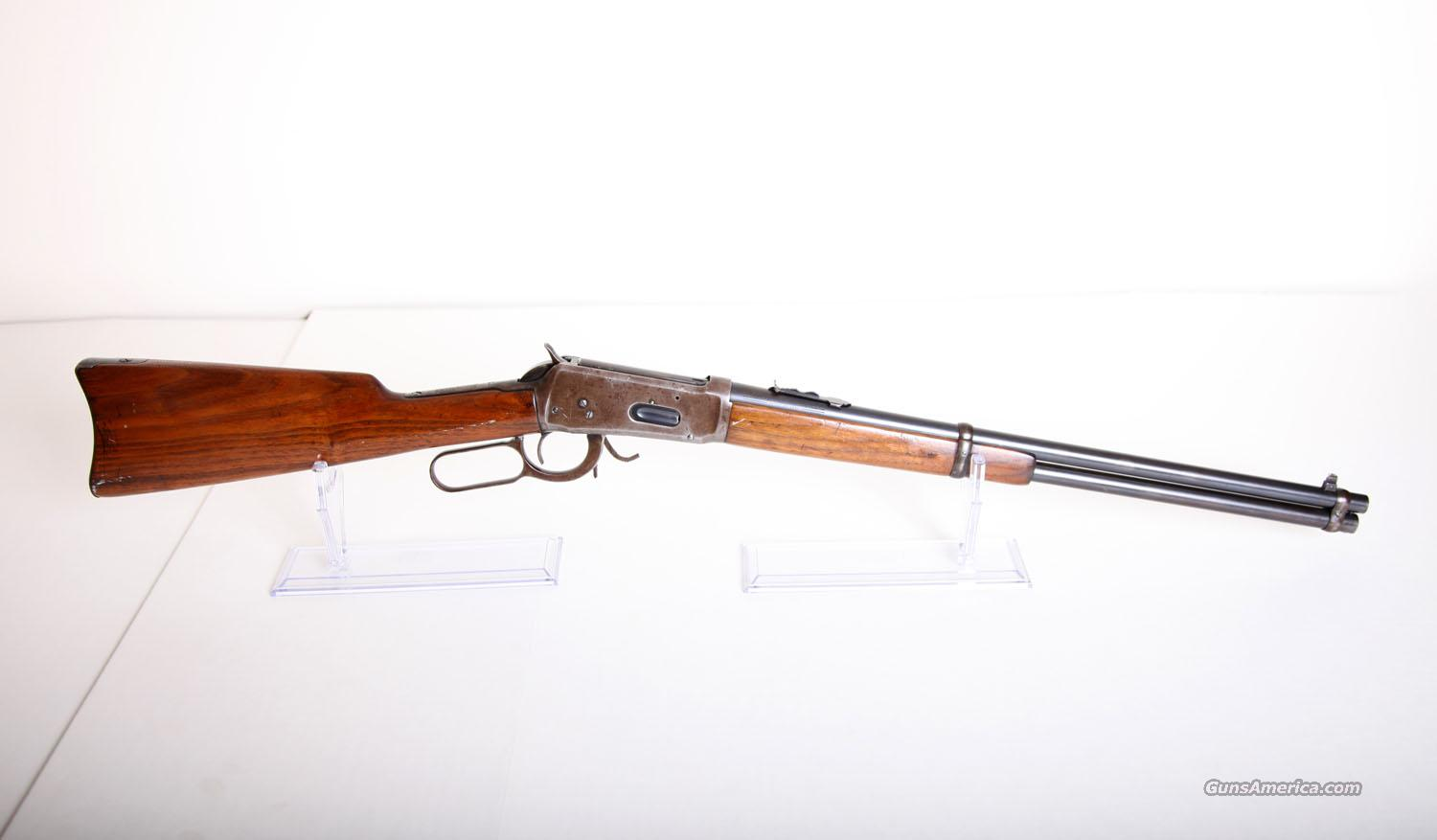 WINCHESTER MODEL 1894 / SADDLE RING CARBINE  Guns > Rifles > Winchester Rifles - Modern Lever > Model 94 > Pre-64