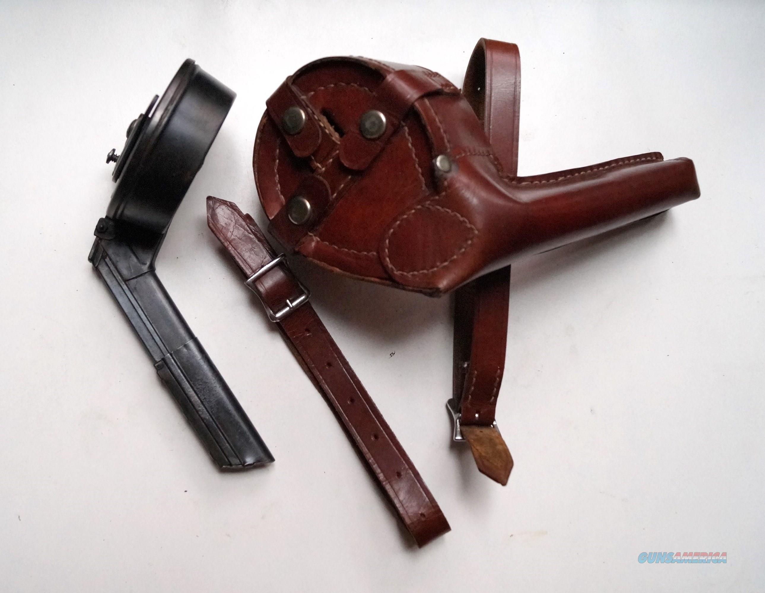 SNAIL DRUM MAGAZINE (NUENBERG TYPE 2) WITH HOLSTER  Non-Guns > Magazines & Clips > Pistol Magazines > Other