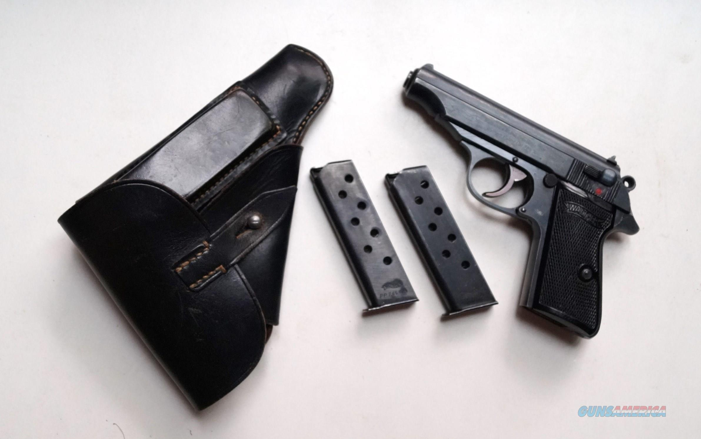 WALTHER PP NAZI RIG MARKED RIG (MINT CONDITION)  Guns > Pistols > Walther Pistols > Pre-1945 > PP