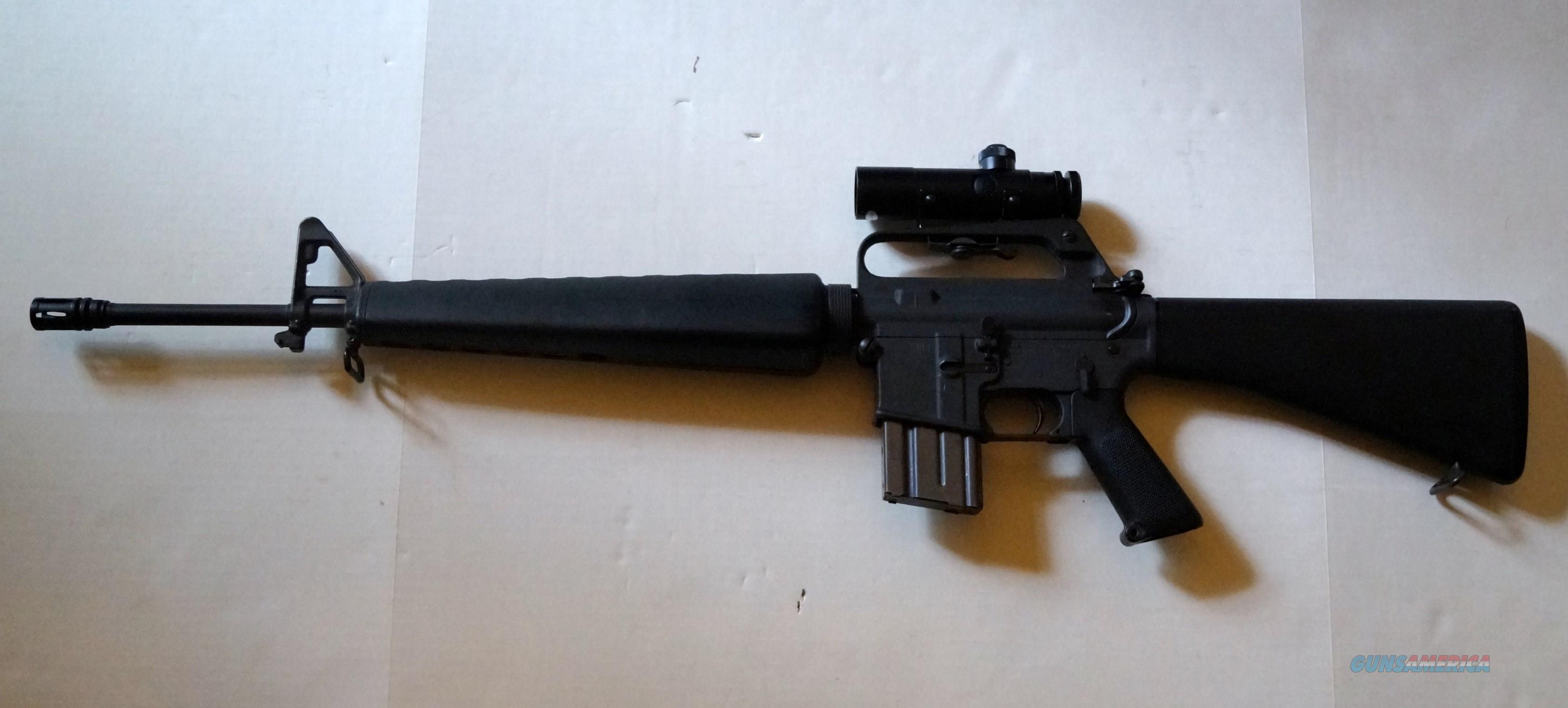 COLT SP 1 (R6000) WITH COLT SCOPE / AR-15 PRE BAN  Guns > Rifles > Colt Military/Tactical Rifles
