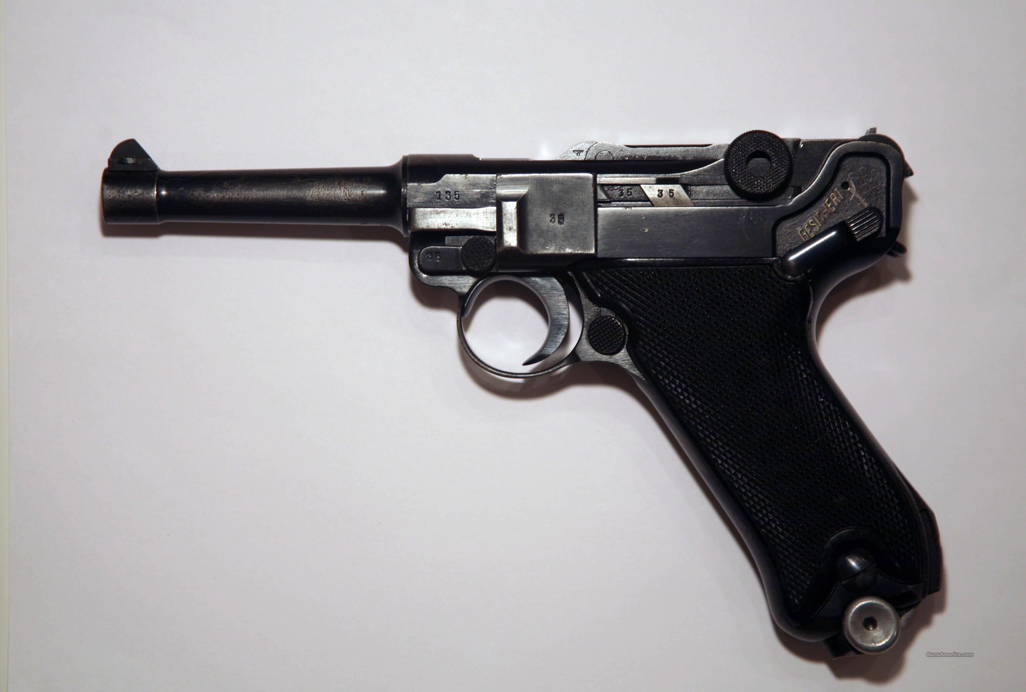 "1941 BYF ""BLACK WIDOW"" W/PAPERS  Guns > Pistols > Luger Pistols"