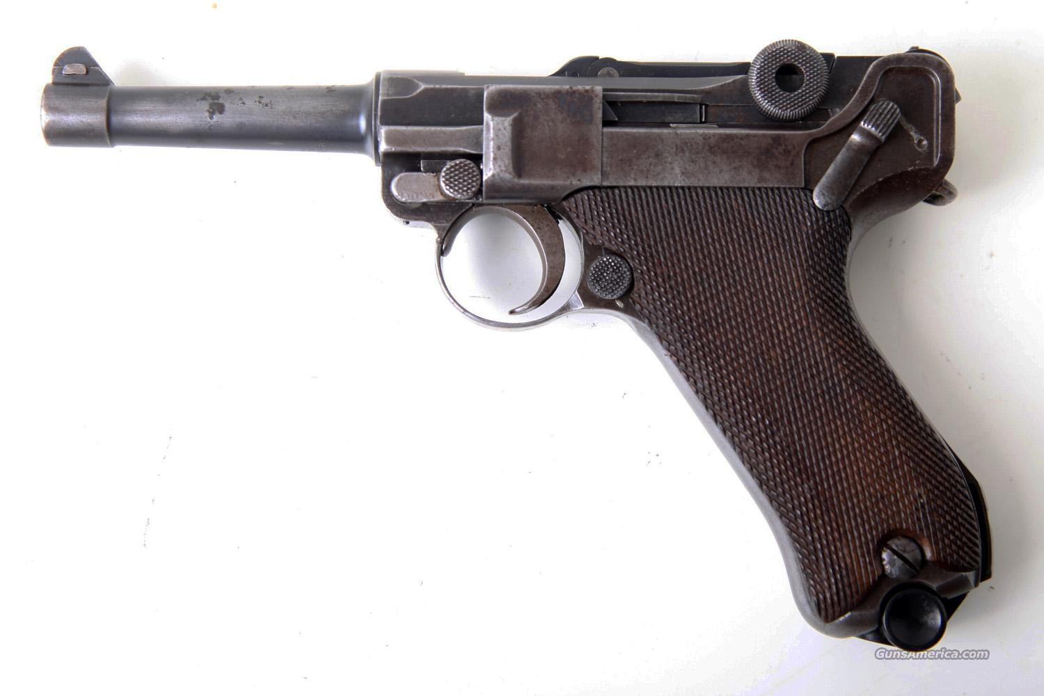 how to draw a german luger