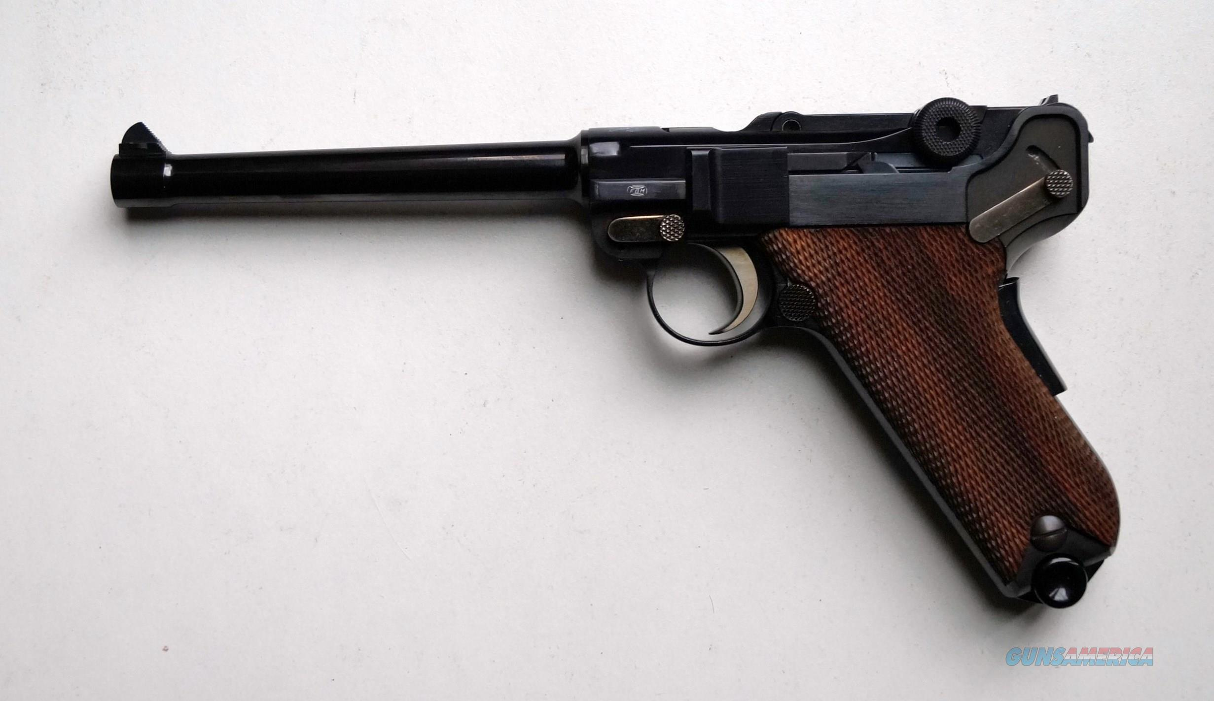 "MAUSER INTERARMS AMERICAN EAGLE WITH 6"" BARREL - MINT  Guns > Pistols > Interarms Pistols"