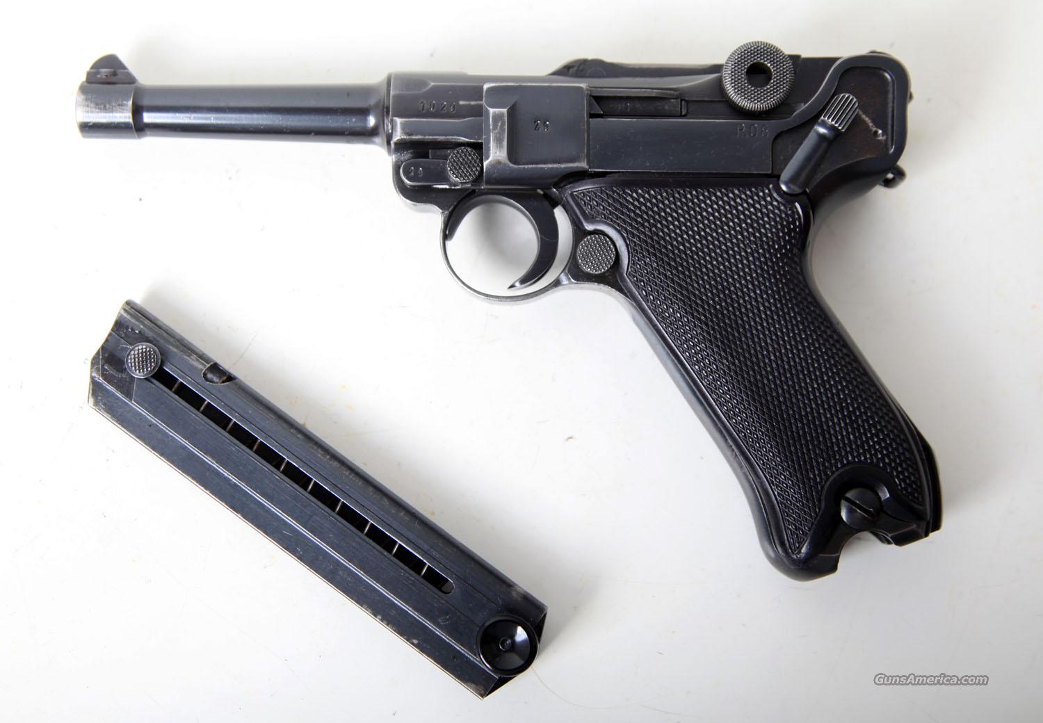 41 BYF BLACK WIDOW GERMAN LUGER  Guns > Pistols > Luger Pistols