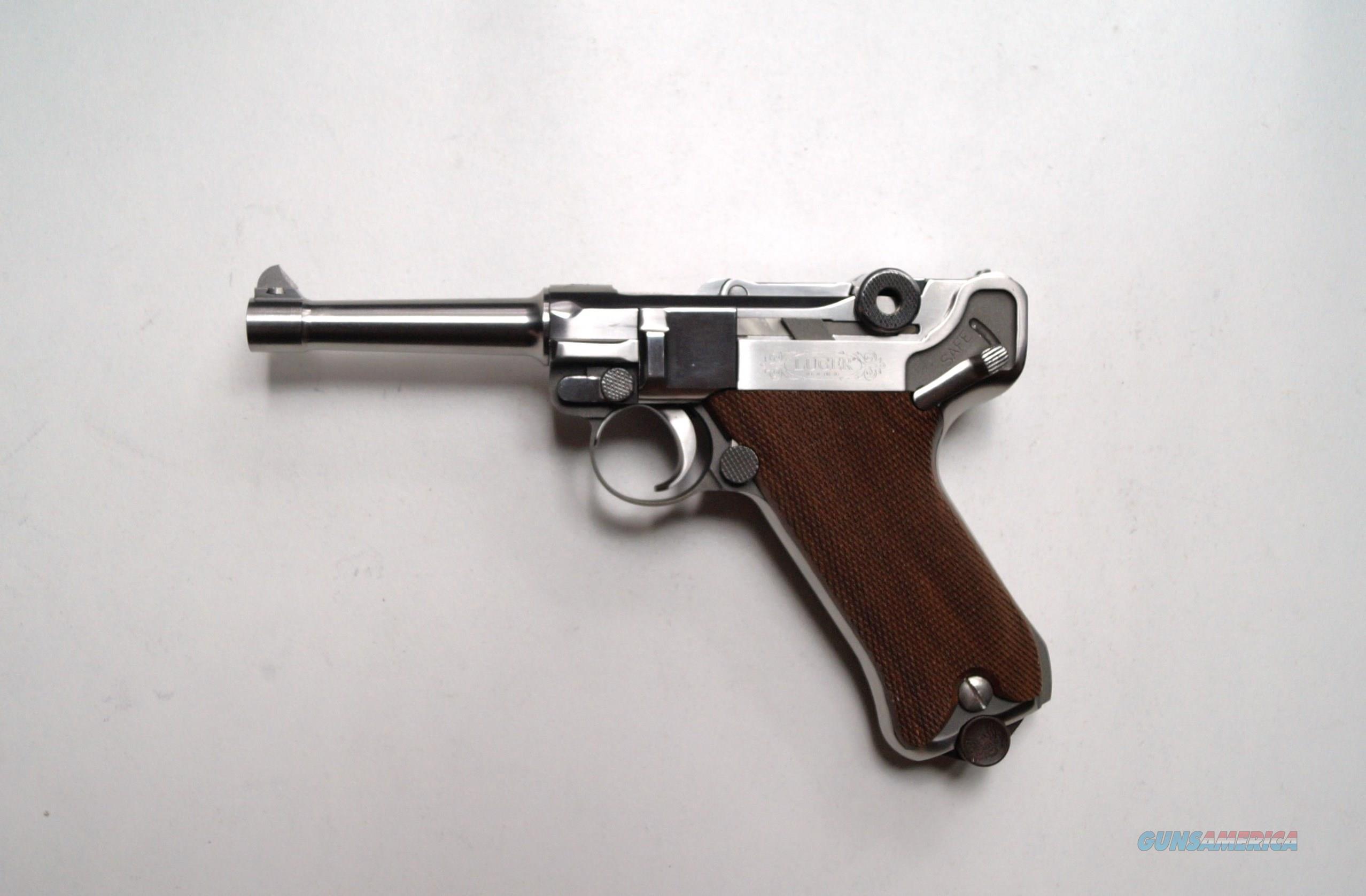 STOEGER AMERICAN EAGLE LUGER / MINT  Guns > Pistols > Luger Pistols