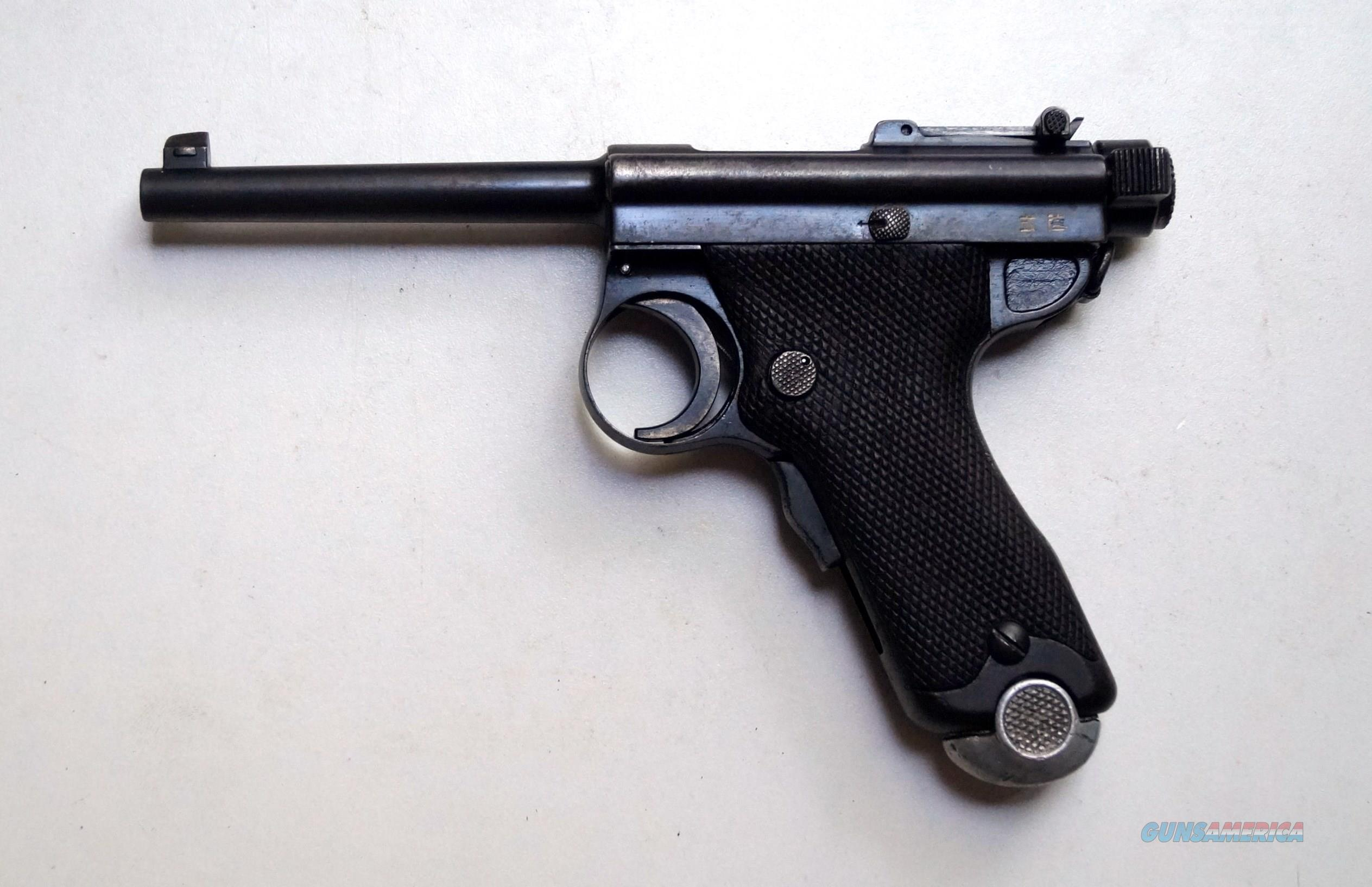 PAPA NAMBU MODEL 1904 WITH MATCHING # MAGAZINE  Guns > Pistols > Military Misc. Pistols Non-US
