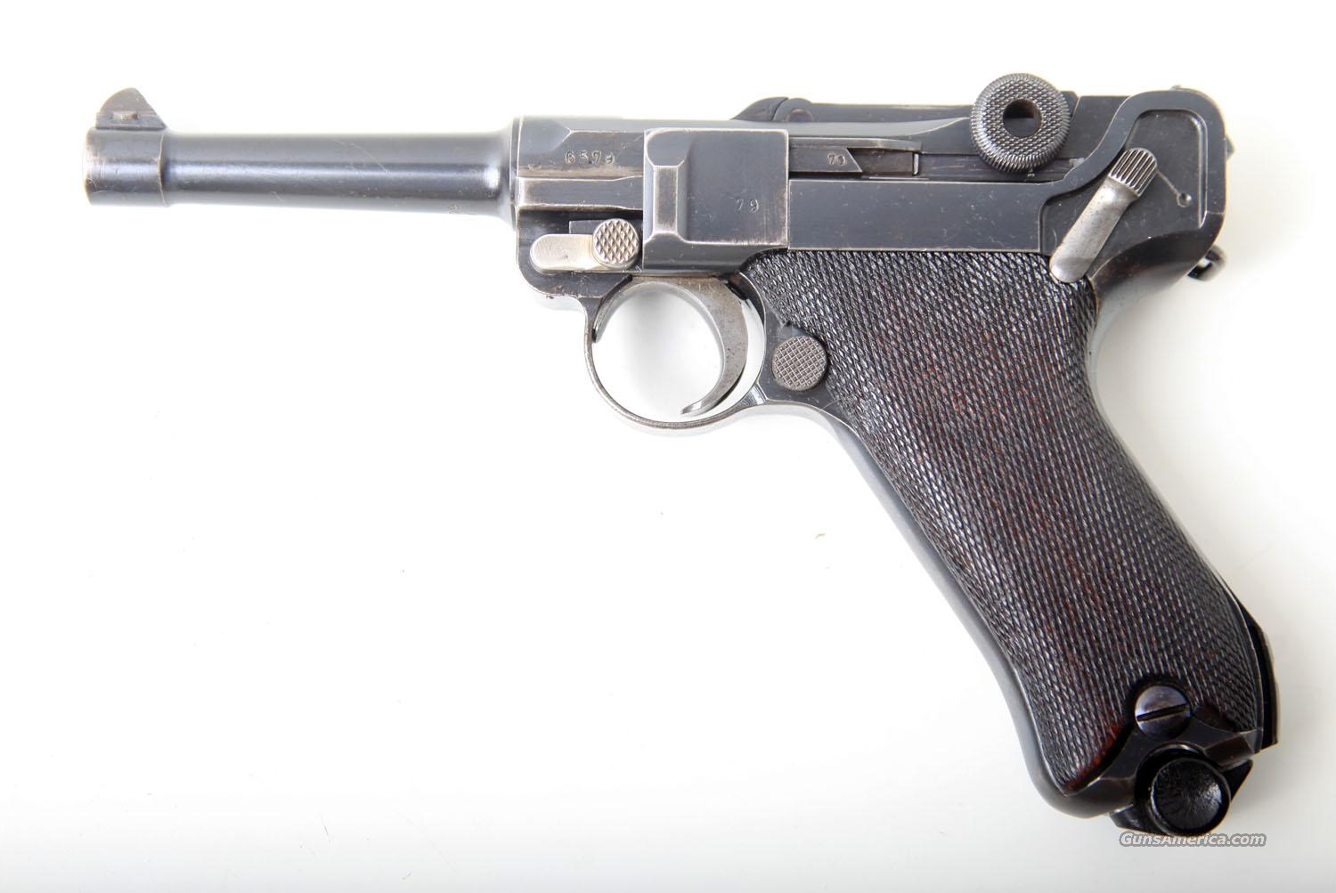 1915 DWM MILITARY GERMAN LUGER   Guns > Pistols > Luger Pistols