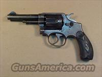 S&W 1899 M&P 1ST MODEL  Guns > Pistols > Smith & Wesson Revolvers > Pre-1899