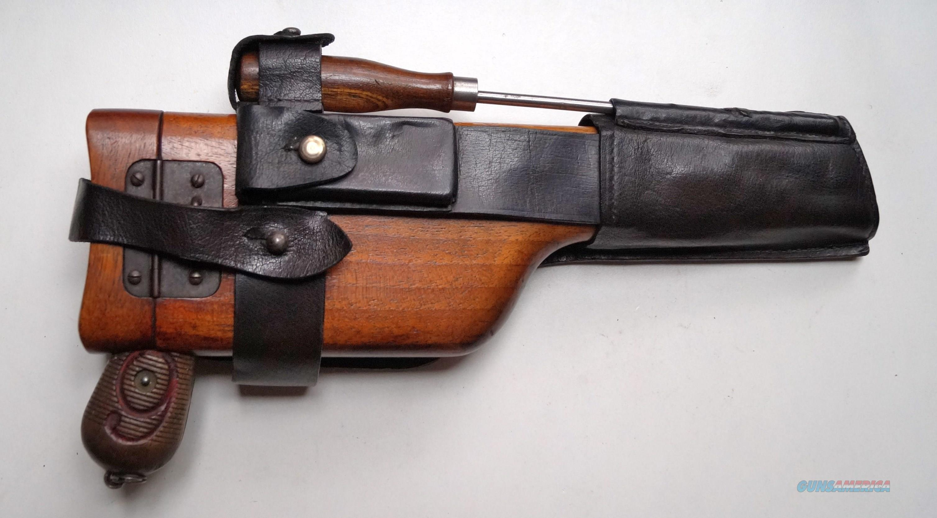 MAUSER BROOMHANDLE - RED 9 WITH MATCHING NUMBERED STOCK  Guns > Pistols > Mauser Pistols