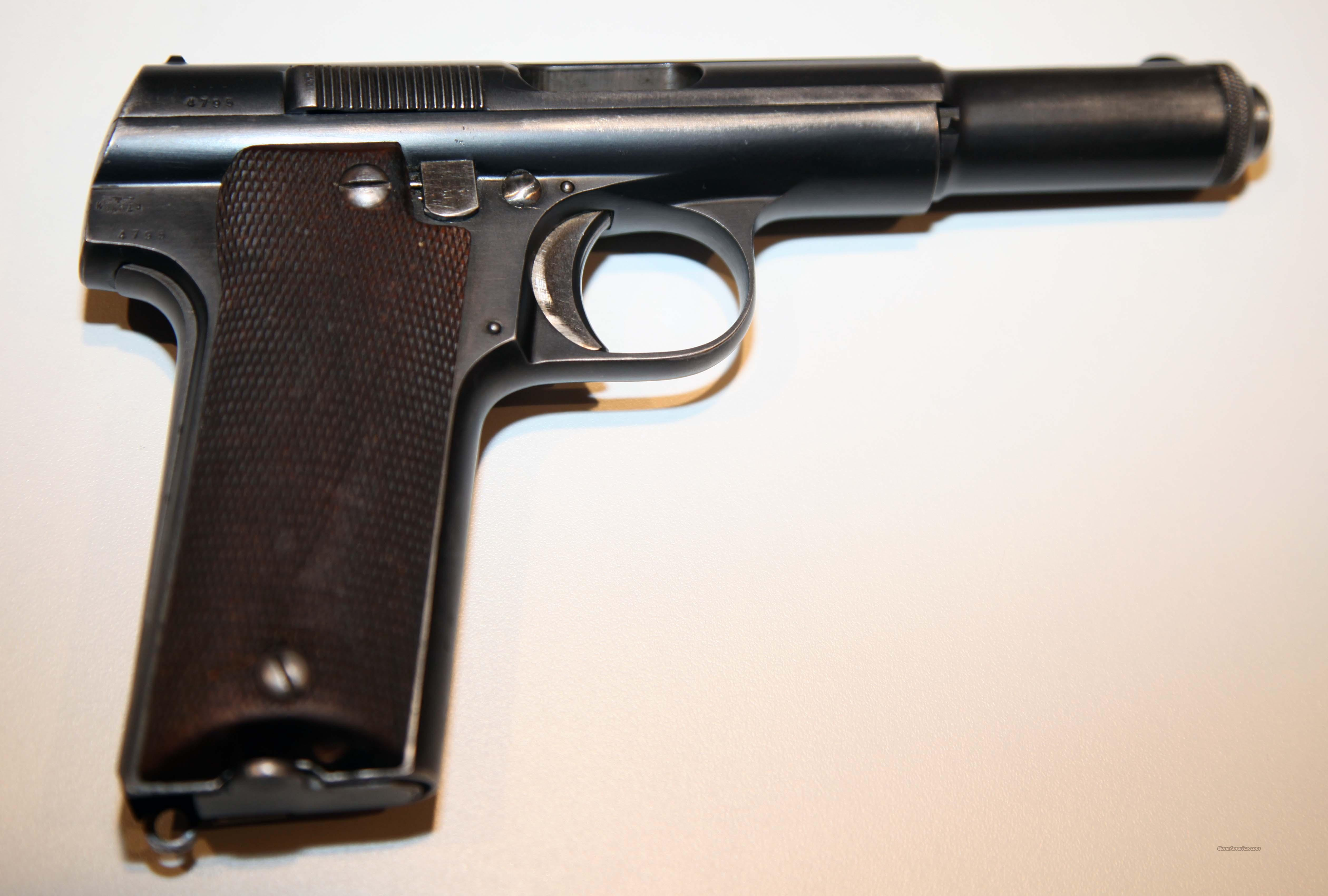 SPANISH ASTRA 600 / 9MM / NAZI MARKED  Guns > Pistols > Astra Pistols