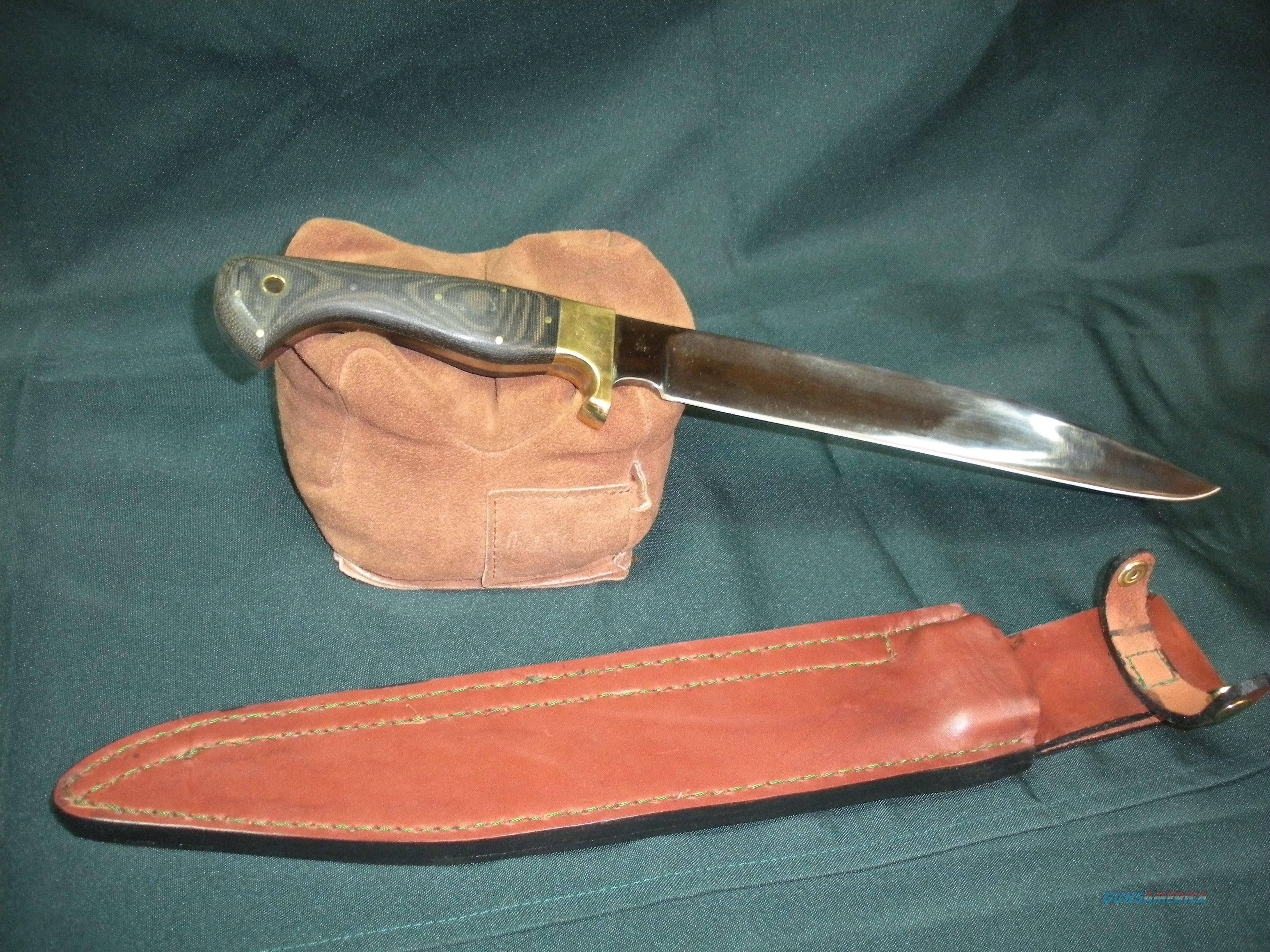 Hand Forged Bowie  Non-Guns > Knives/Swords > Knives > Fixed Blade > Hand Made