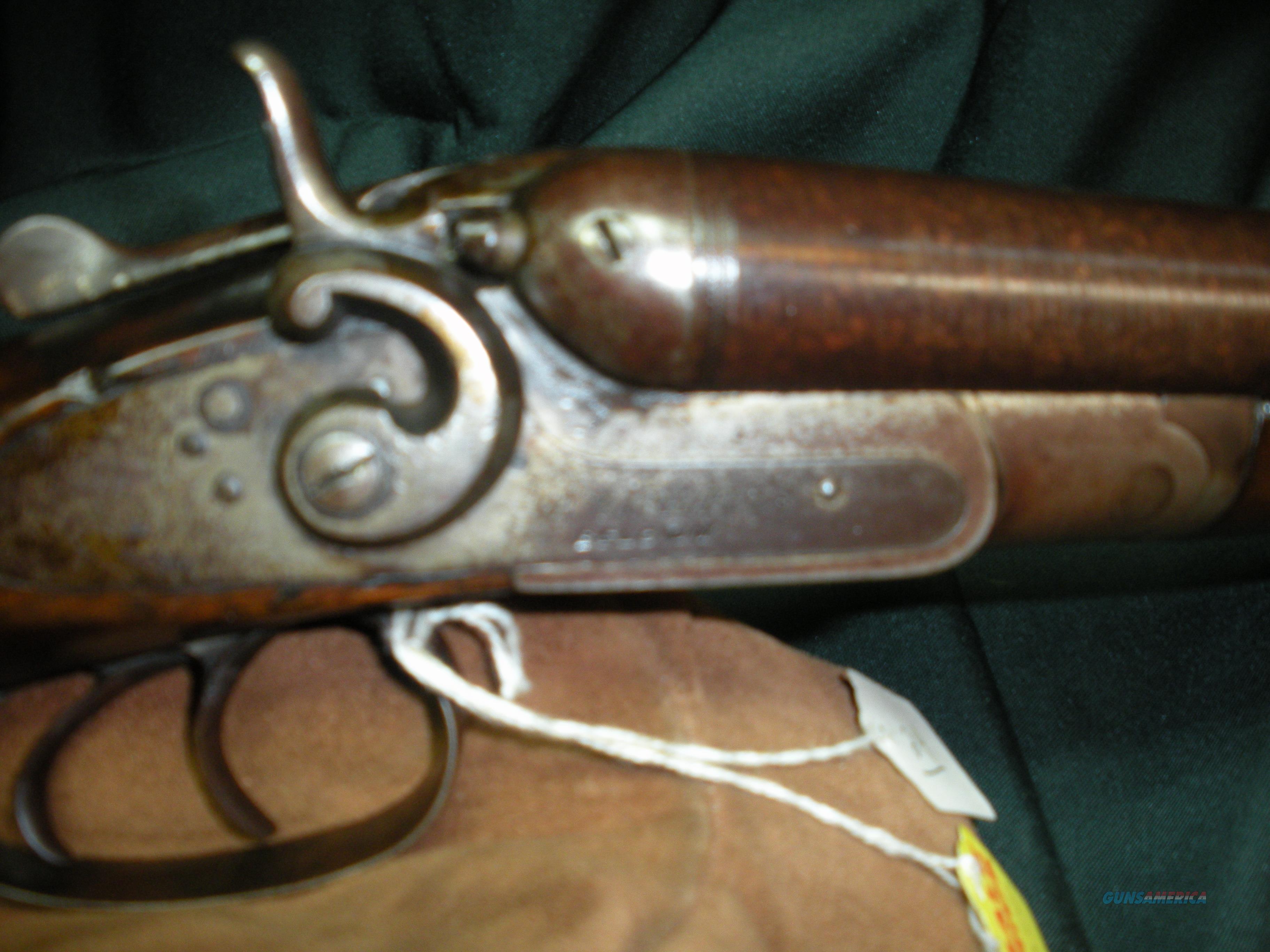 W. Richards SXS Belgium 12ga  Guns > Shotguns > B Misc Shotguns