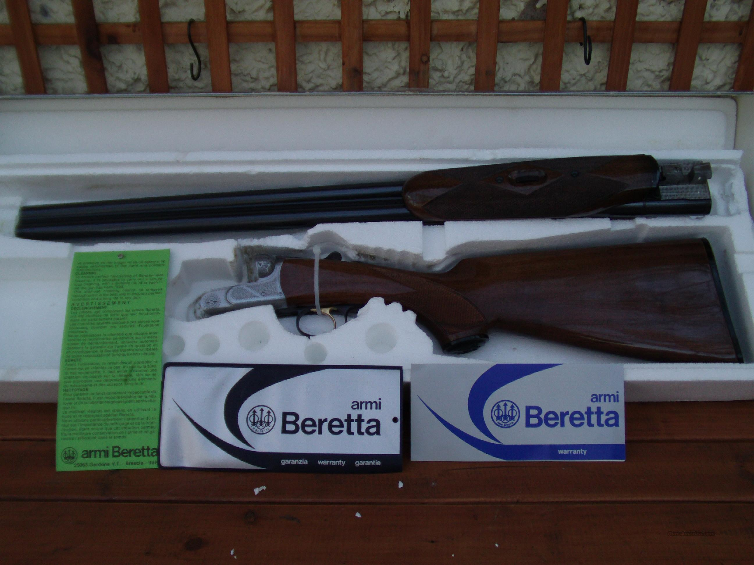 beretta 426e 12 gauge, 26 inch improved/modified  Guns > Shotguns > Beretta Shotguns > SxS