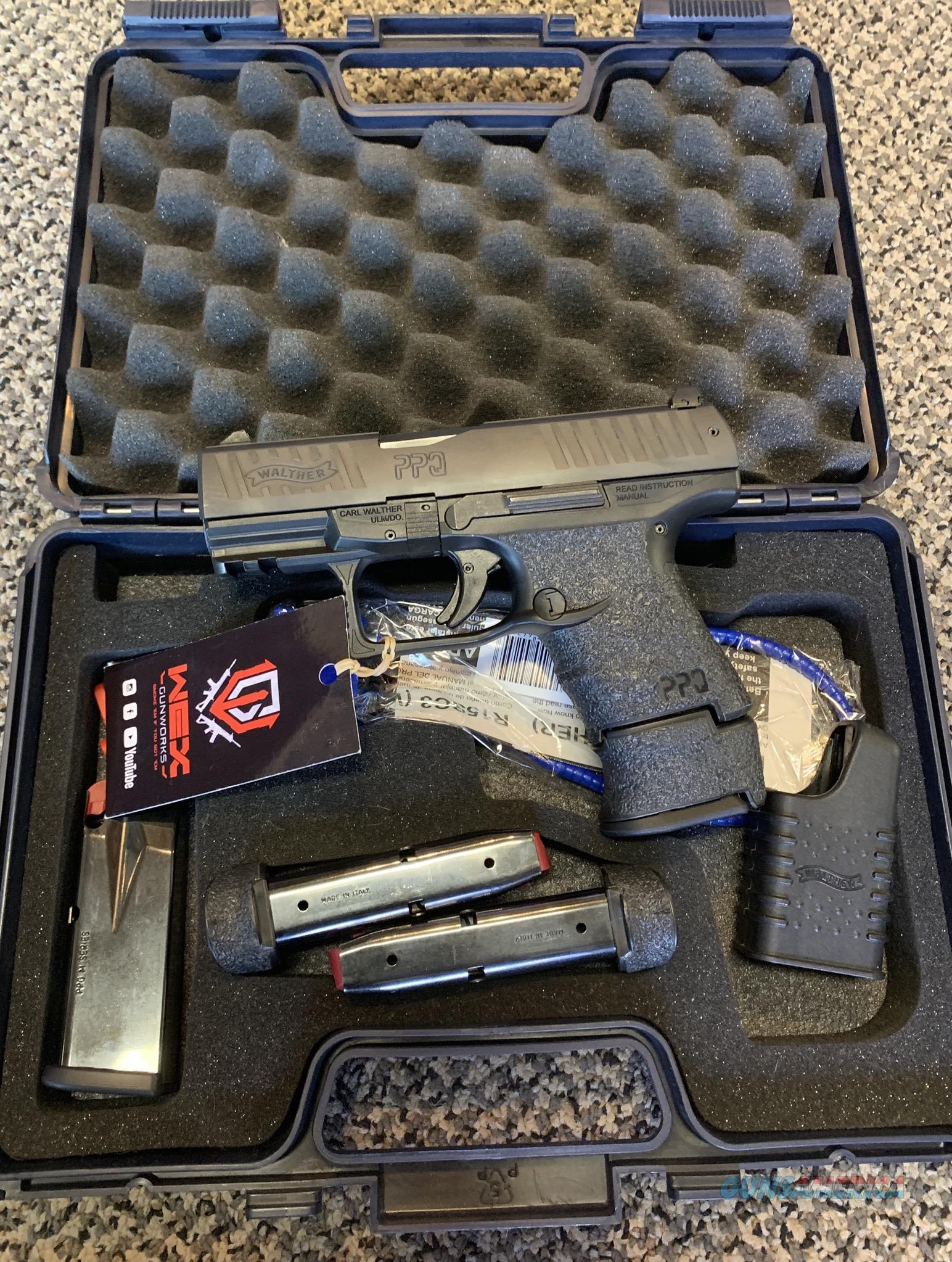 WALTHER PPQ M2 SC 9MM SUBCOMPACT 4 MAGAZINES  Guns > Pistols > Walther Pistols > Post WWII > P99/PPQ