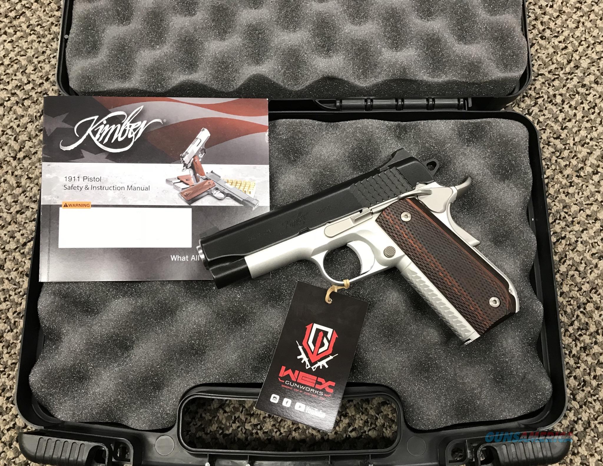 KIMBER SUPER CARRY PRO 4 INCH BBL .45 ACP TWO TONE  Guns > Pistols > Kimber of America Pistols > 1911