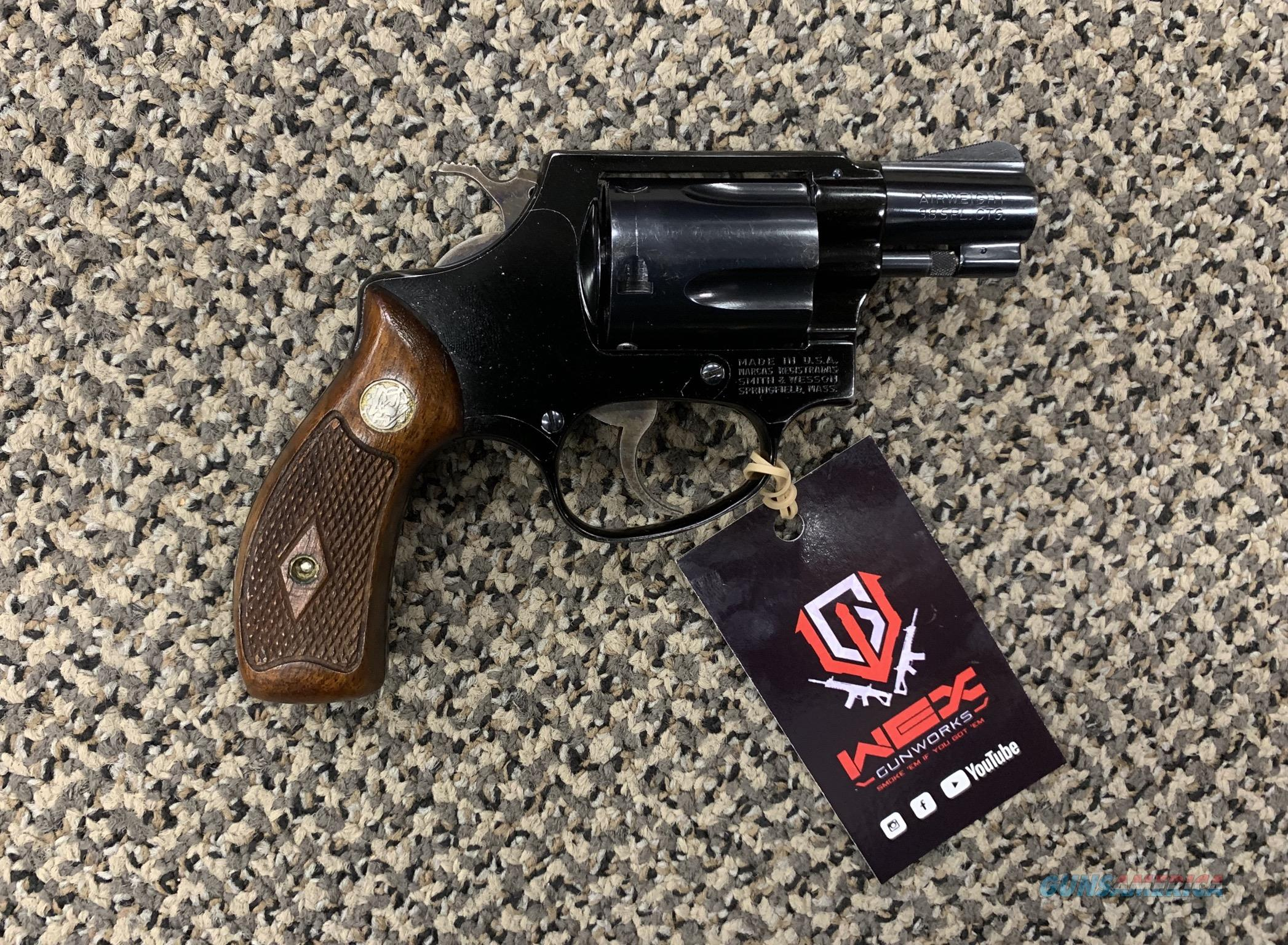 S&W MODEL 37 CHIEFS SPECIAL AIRWEIGHT .38 SPECIAL  Guns > Pistols > Smith & Wesson Revolvers > Small Frame ( J )
