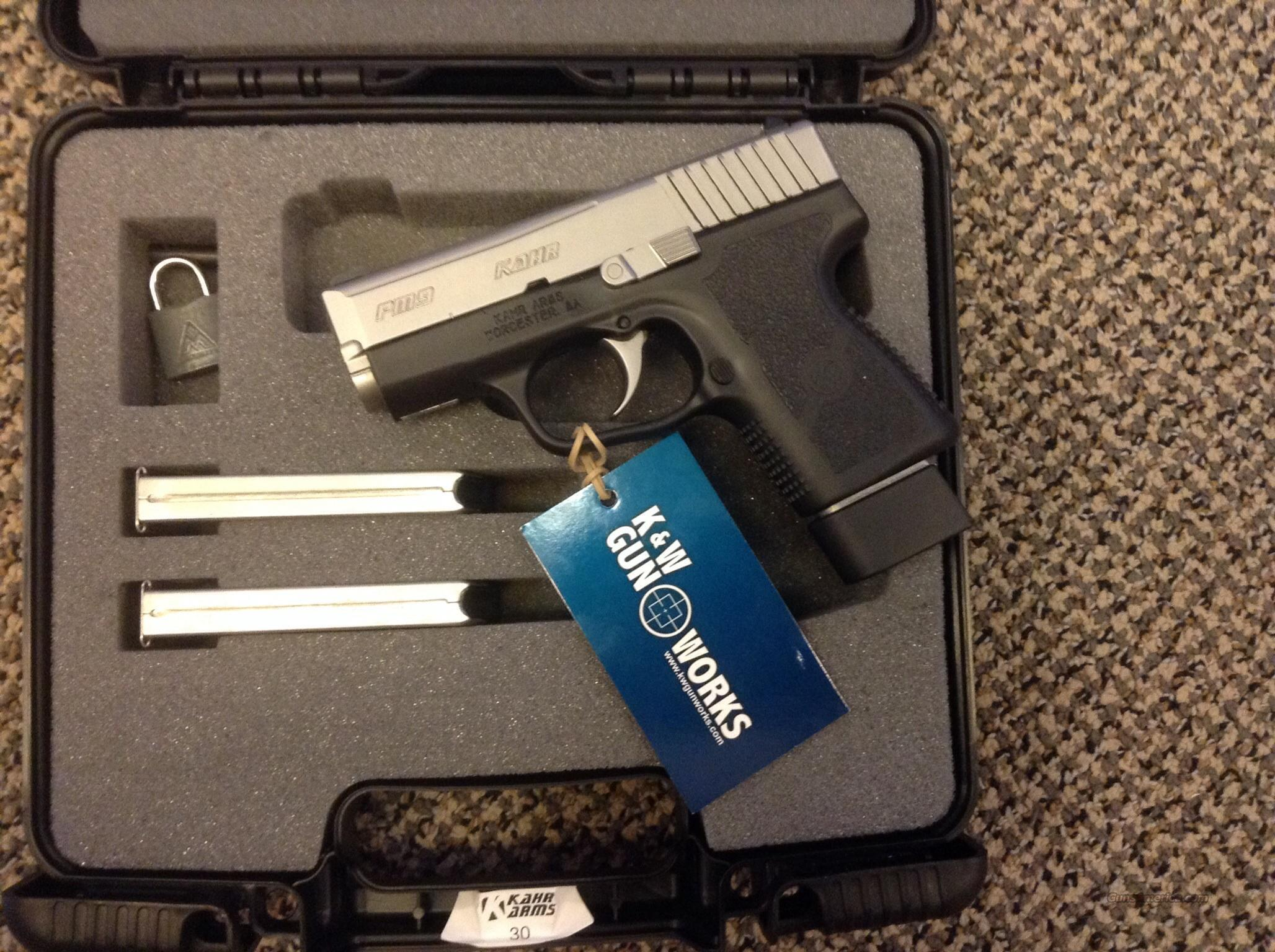 KAHR PM9 WITH 3 MAGAZINES  Guns > Pistols > Kahr Pistols