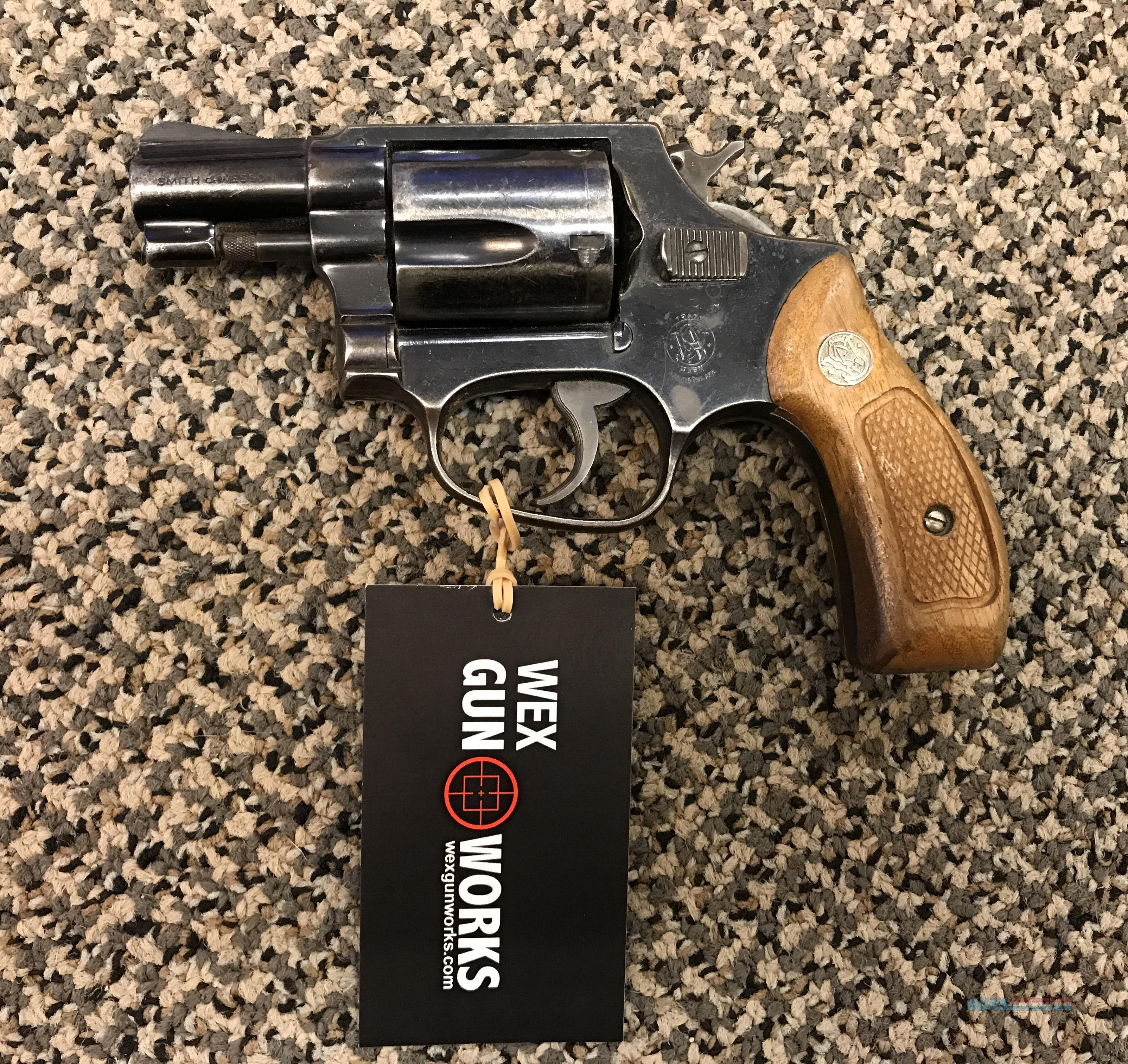 S&W PRE MODEL 36 FIVE SHOT .38 SPECIAL 1 7/8 INCH BBL  Guns > Pistols > Smith & Wesson Revolvers > Small Frame ( J )